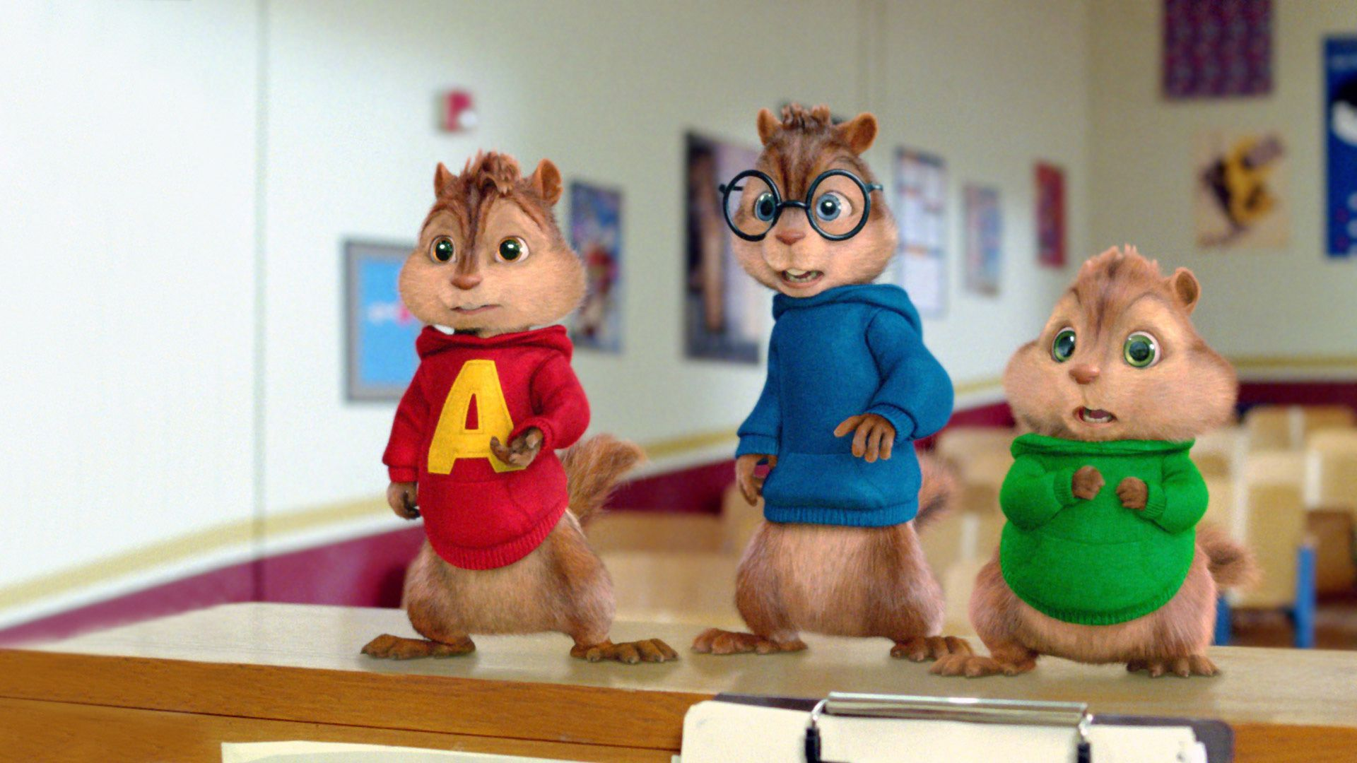 Alvin And The Chipmunks HD Background