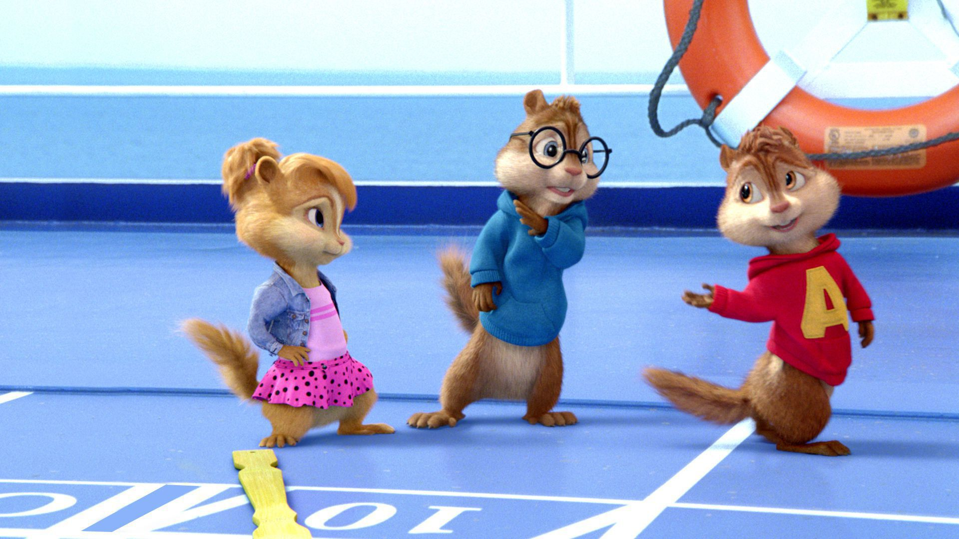 Alvin And The Chipmunks HD Desktop