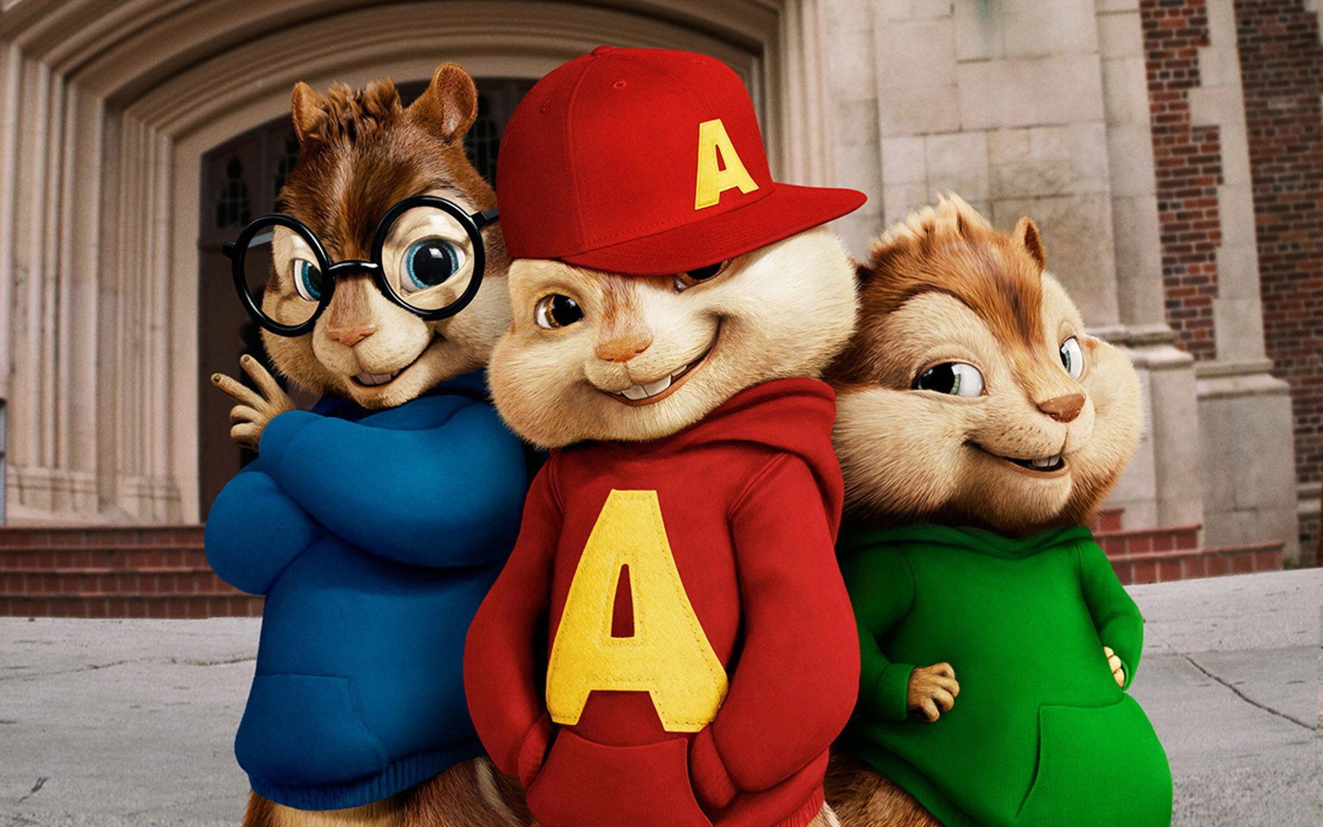 Alvin And The Chipmunks In High Resolution