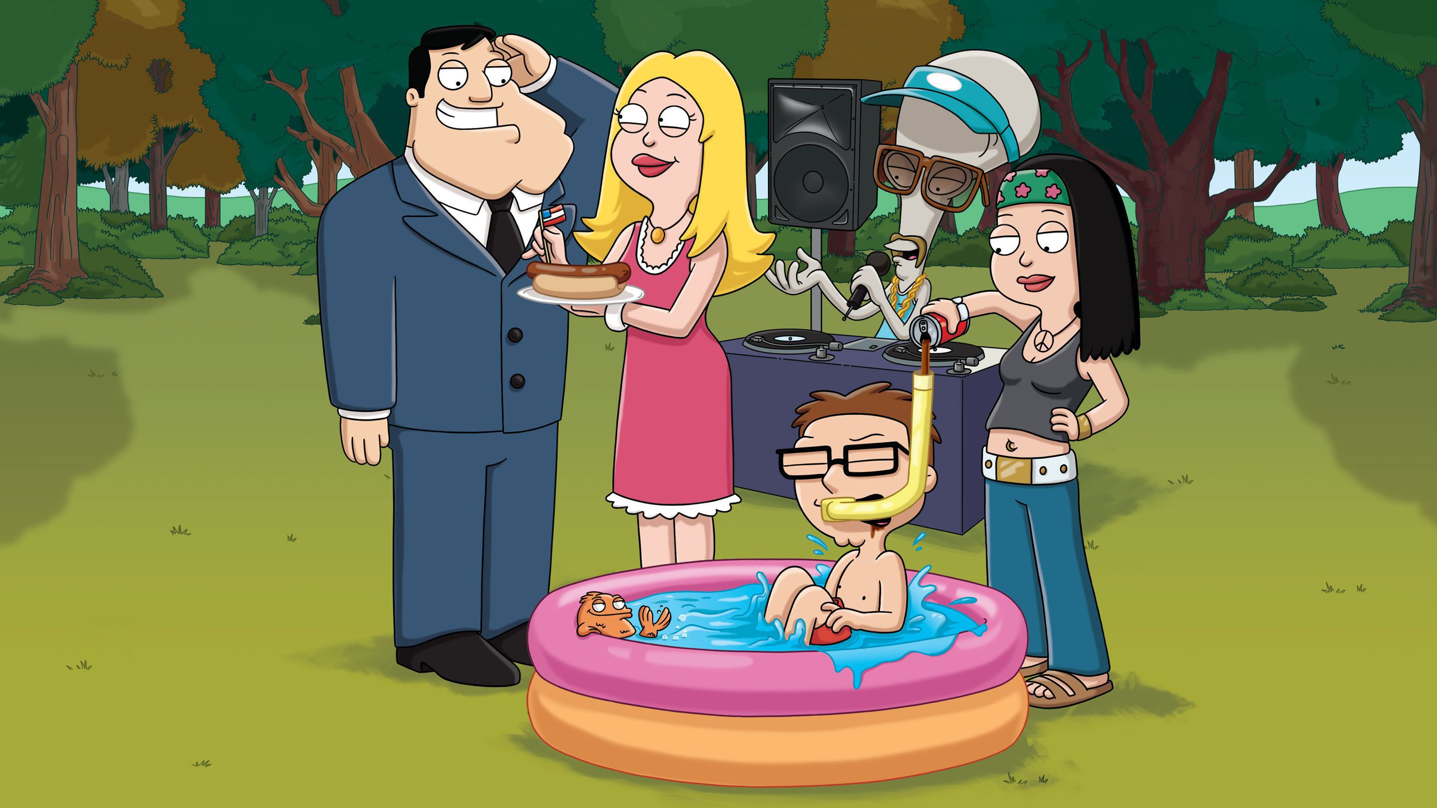 American Dad Computer Wallpaper
