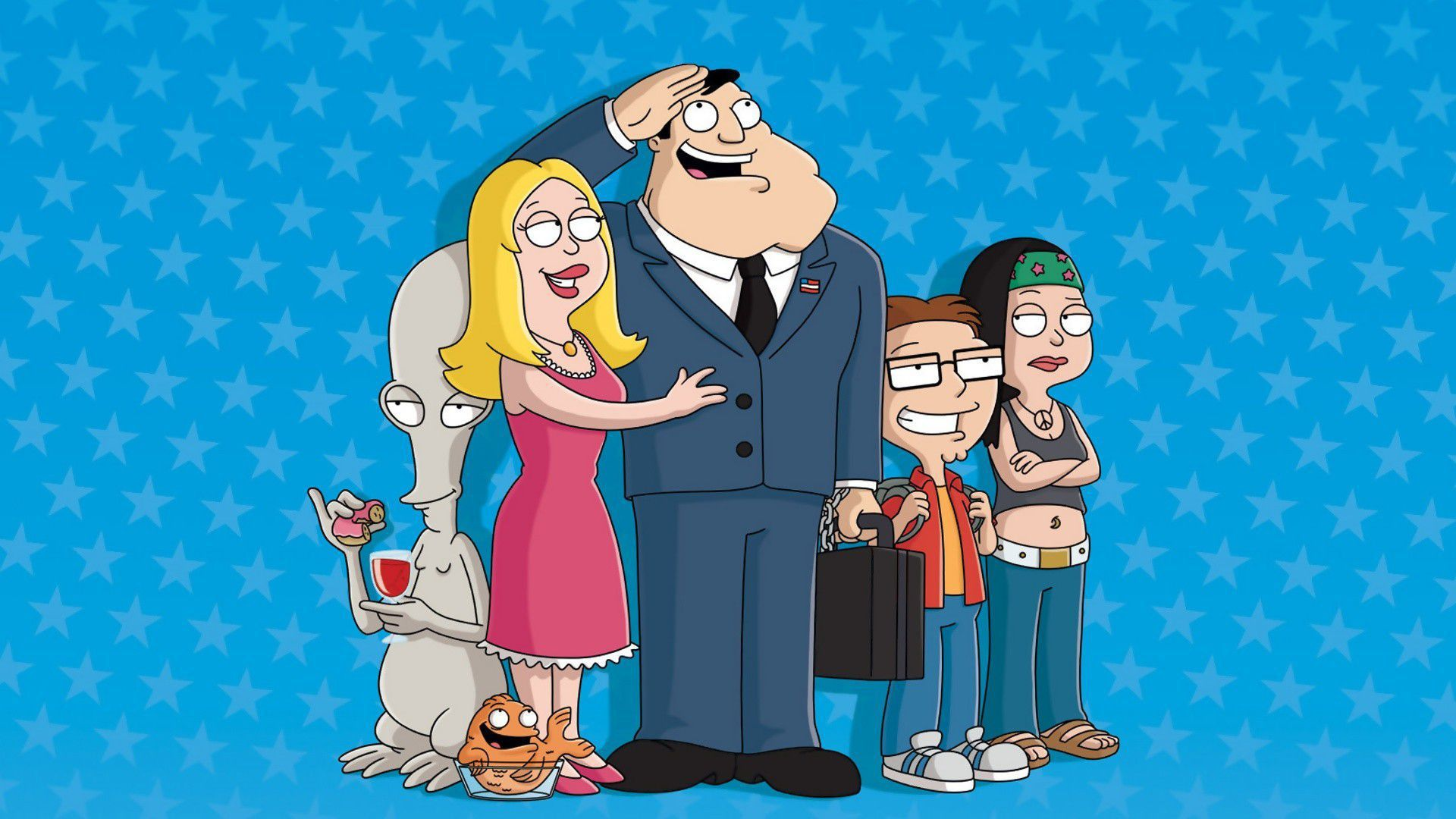 American Dad Widescreen