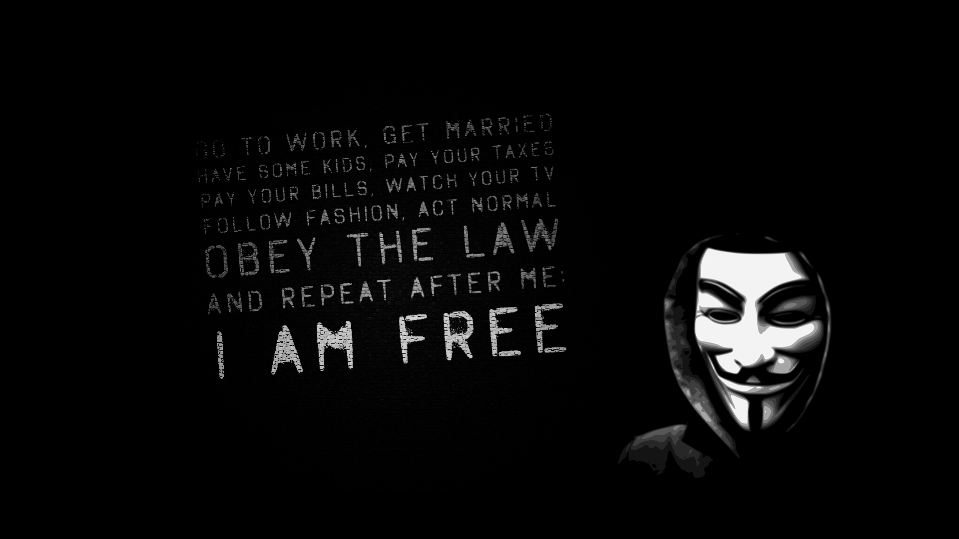 Anarchy Wallpaper