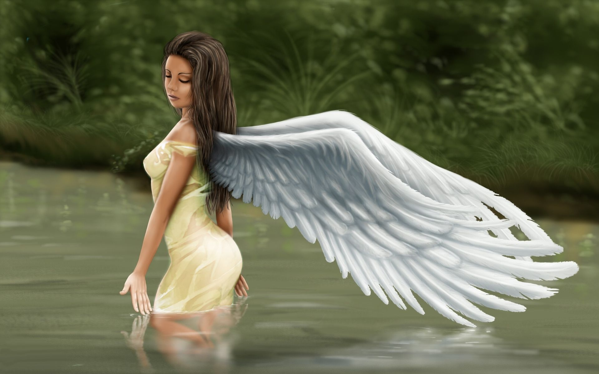 Angel Girl Desktop