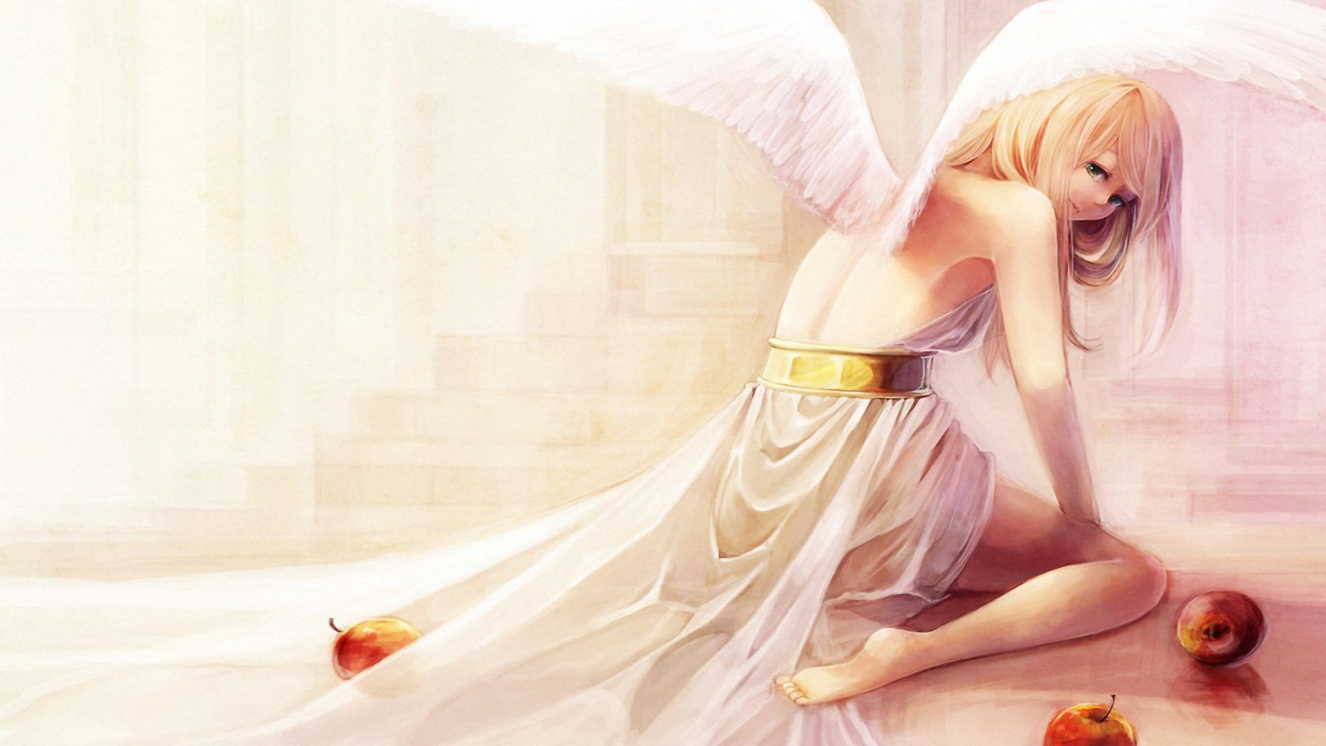 Angel Girl HD Background