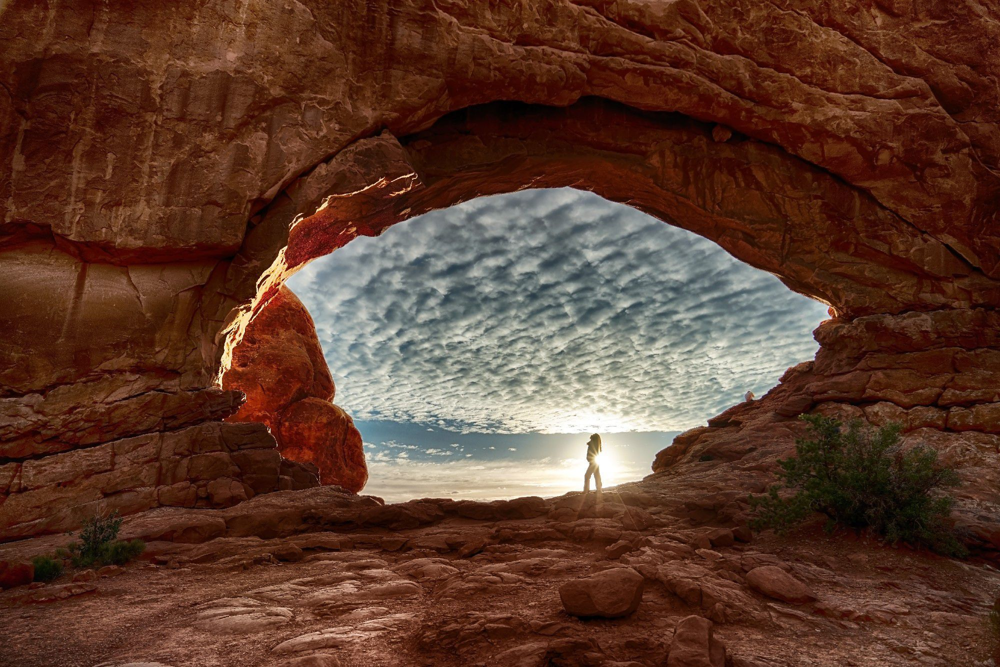Arches National Park HD Background