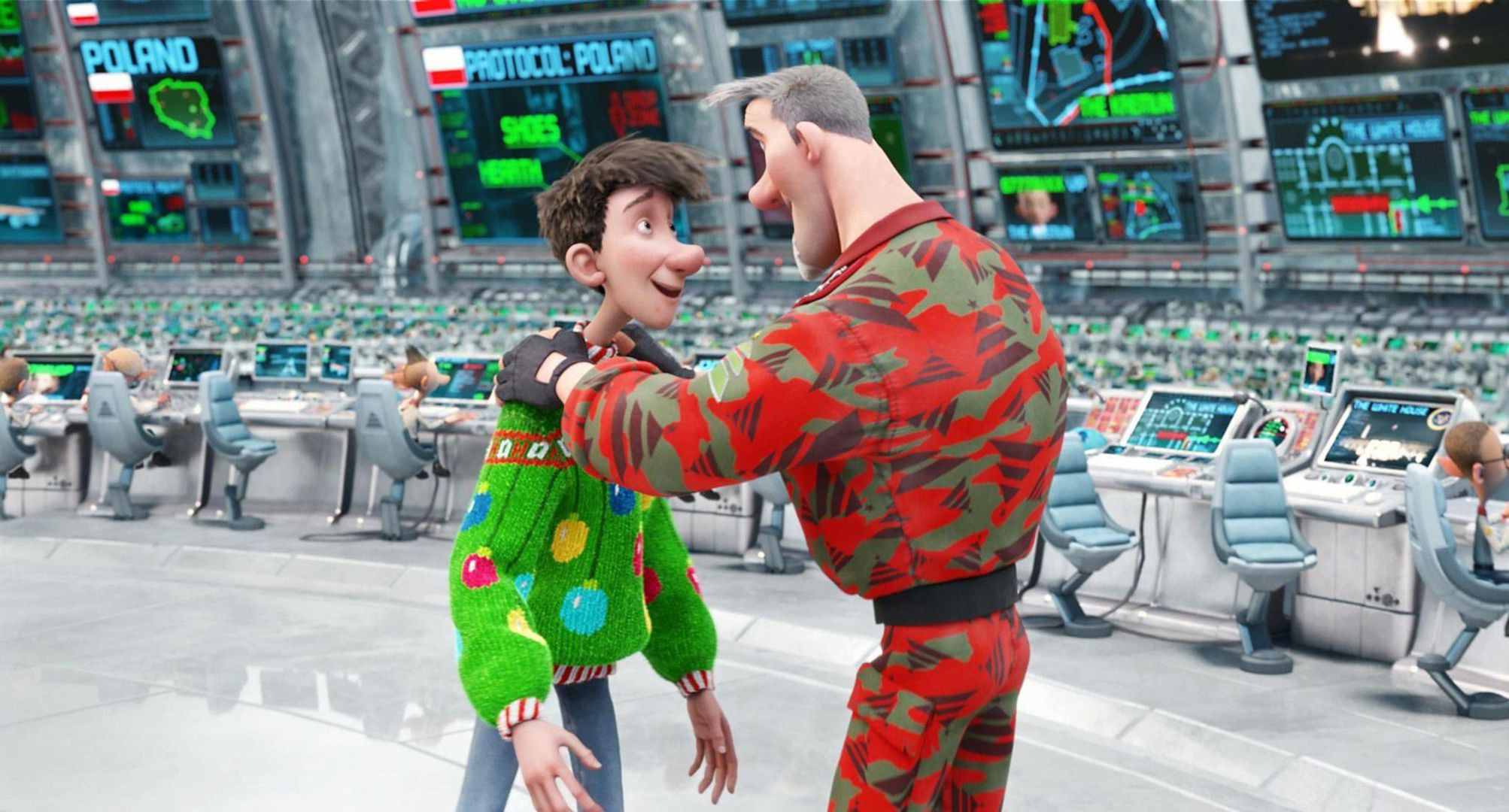 Arthur Christmas High Definition Wallpapers