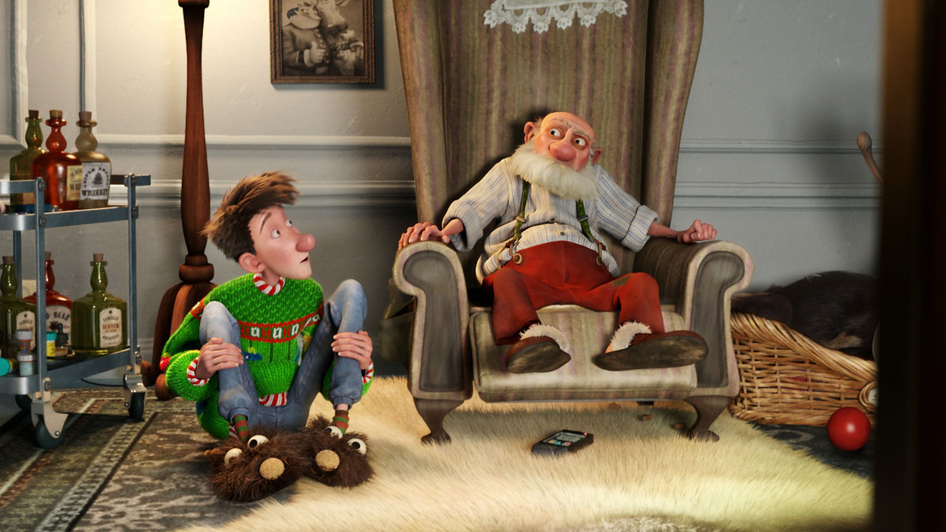 Arthur Christmas Photos