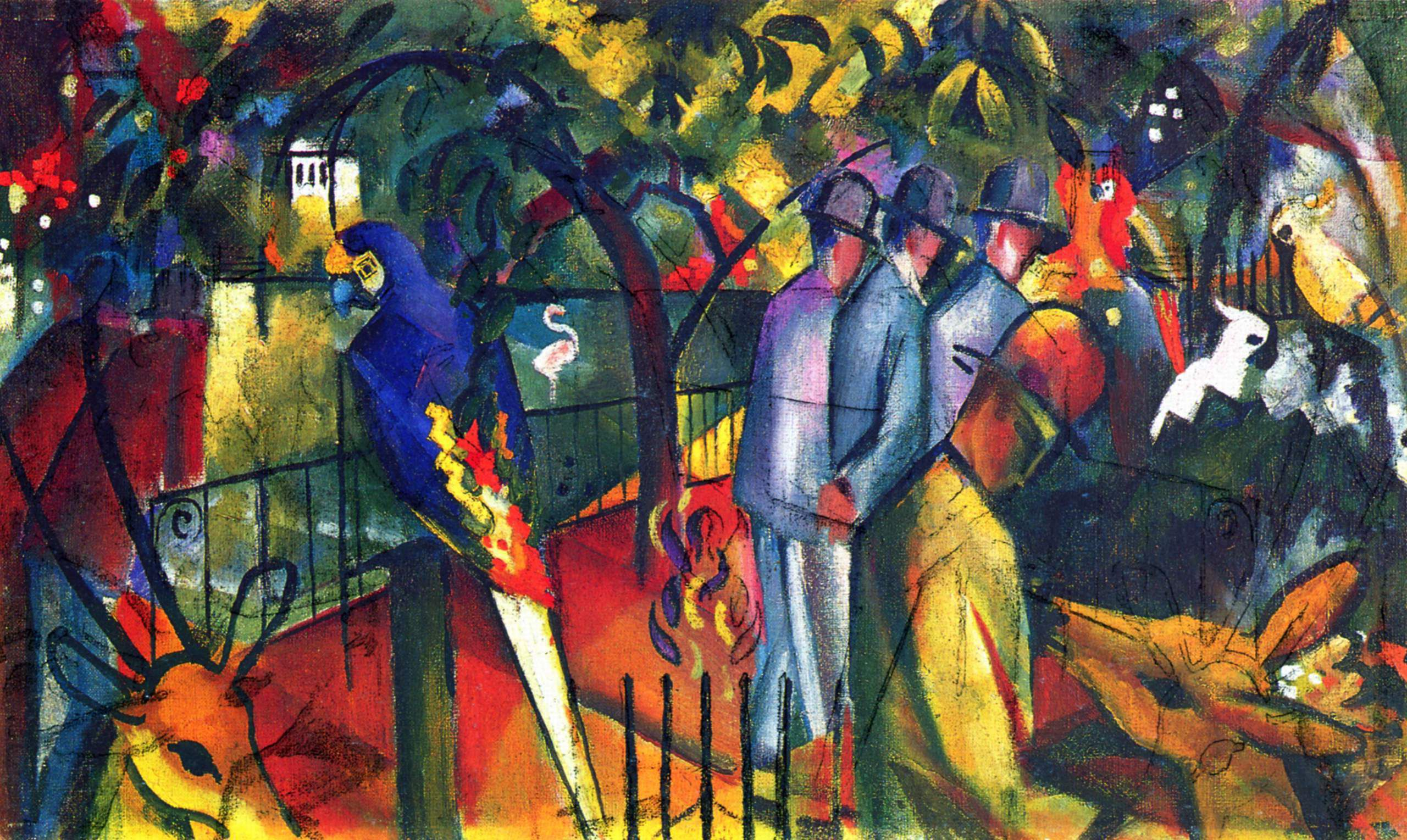 August Macke Background