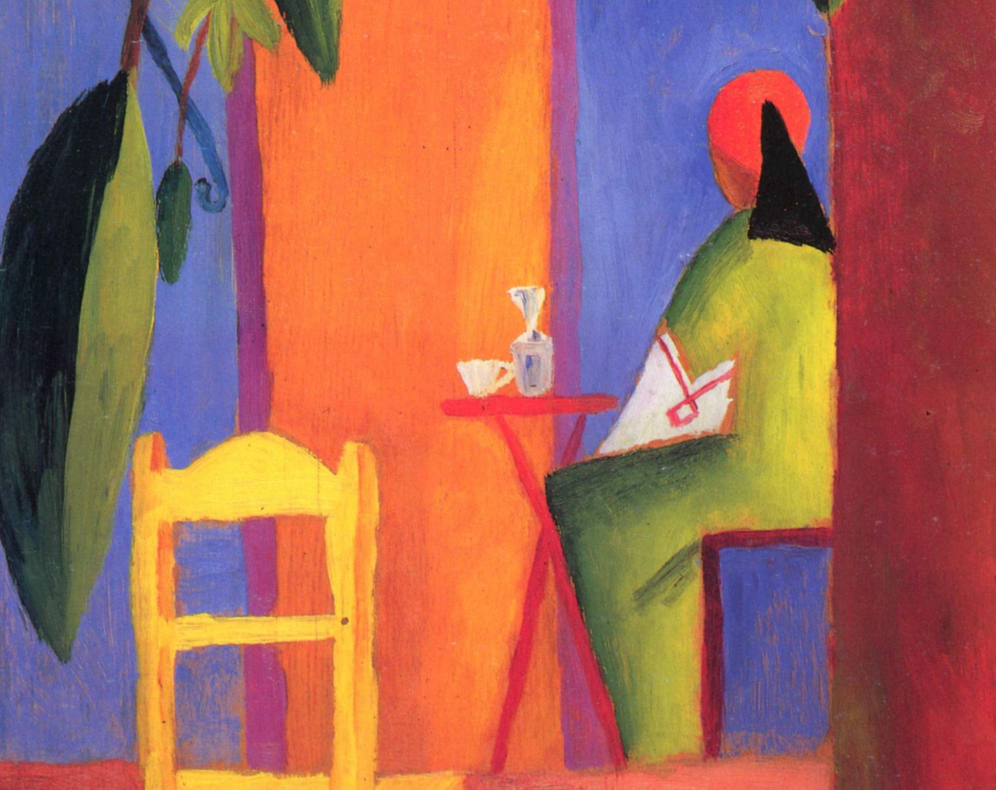 August Macke HD Wallpaper