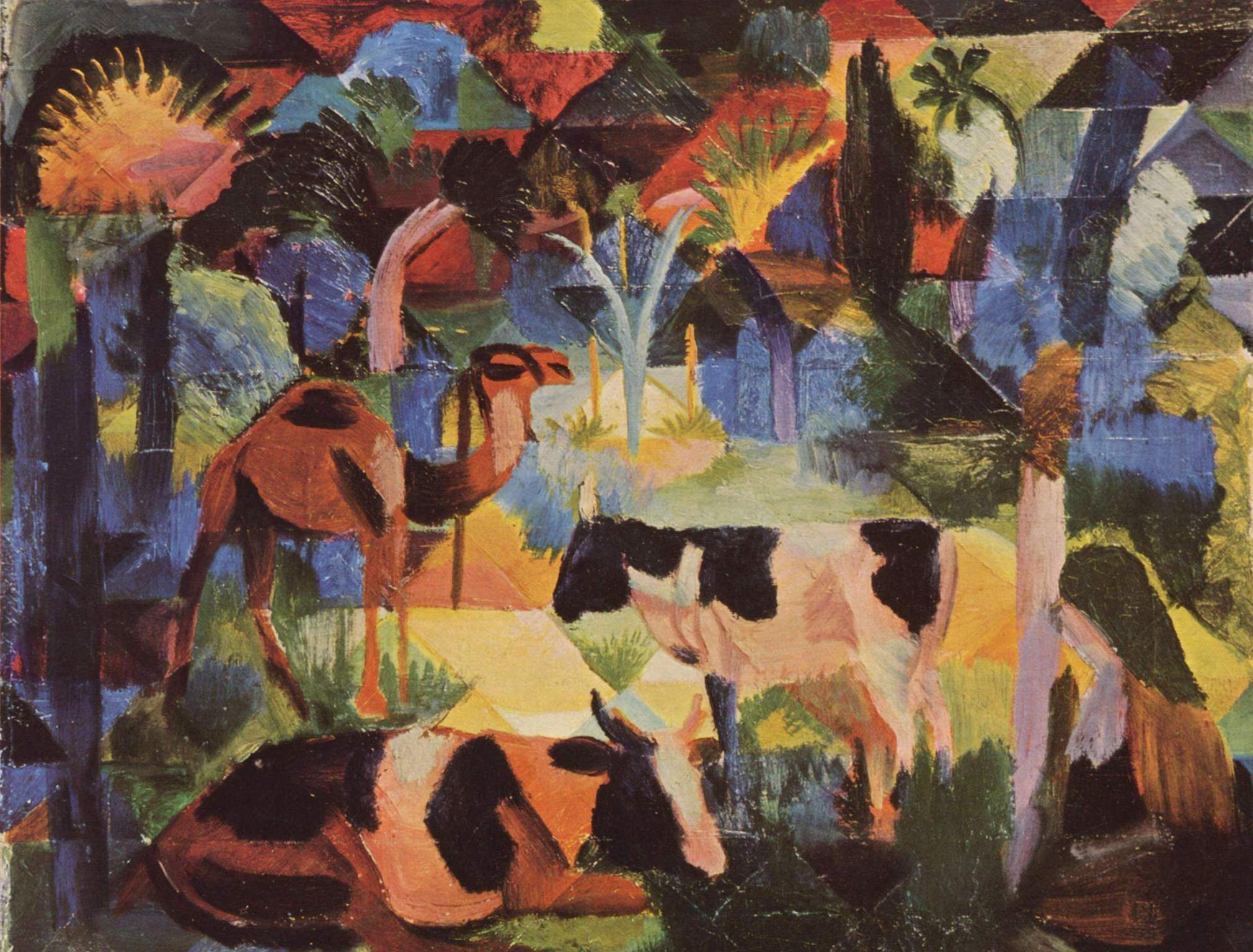 August Macke Widescreen