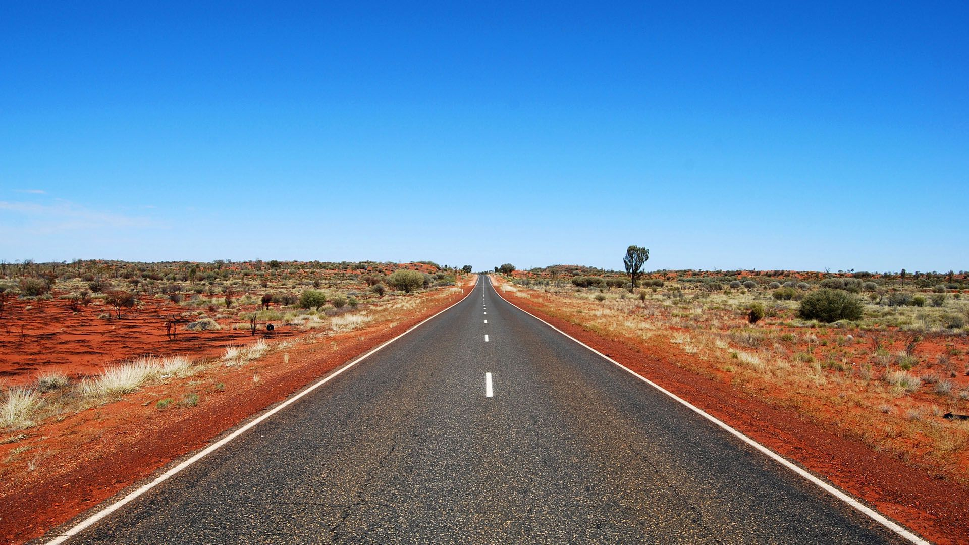 Wallpaper 1080p Outback Road Australia