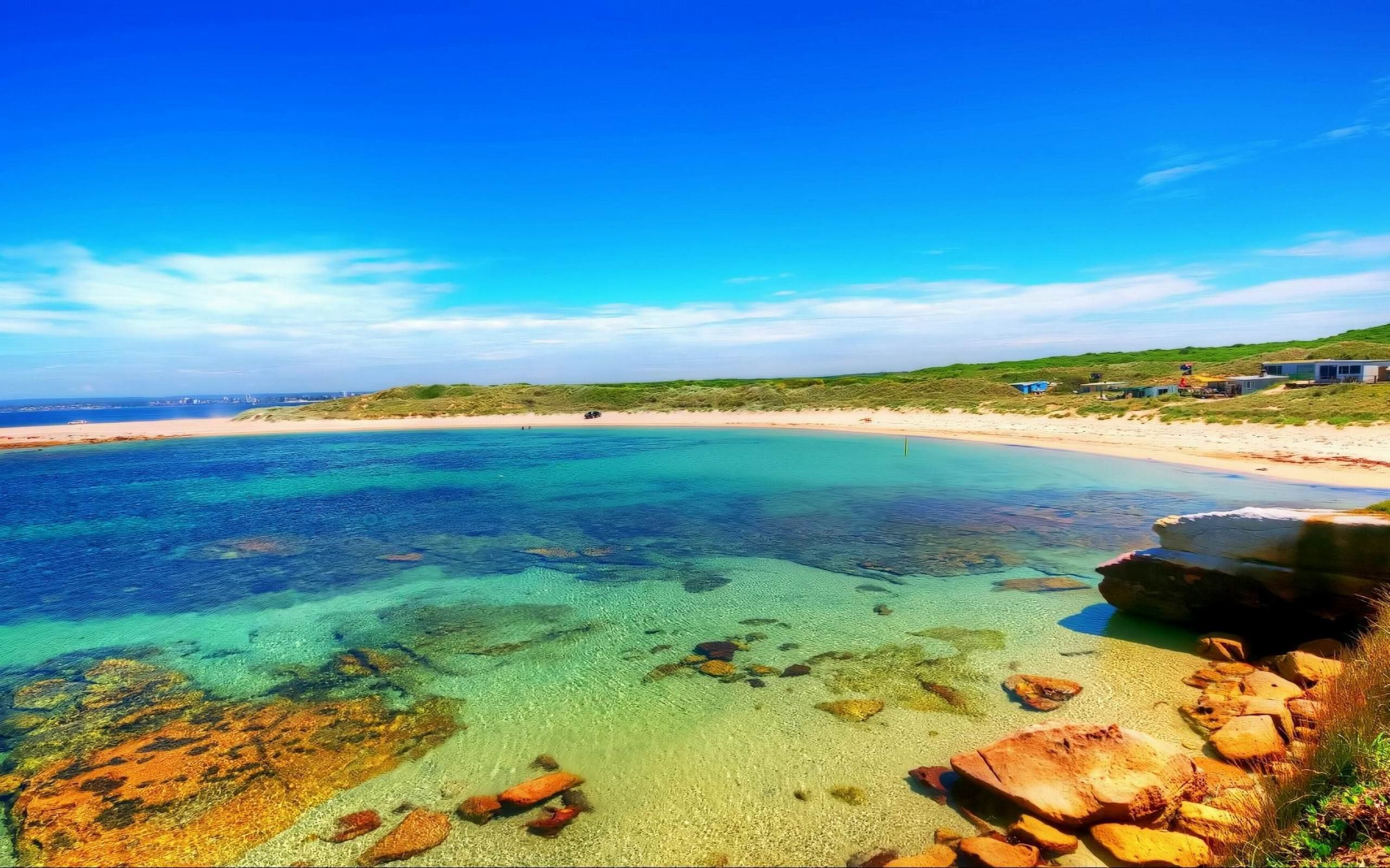 Australian Beach Background