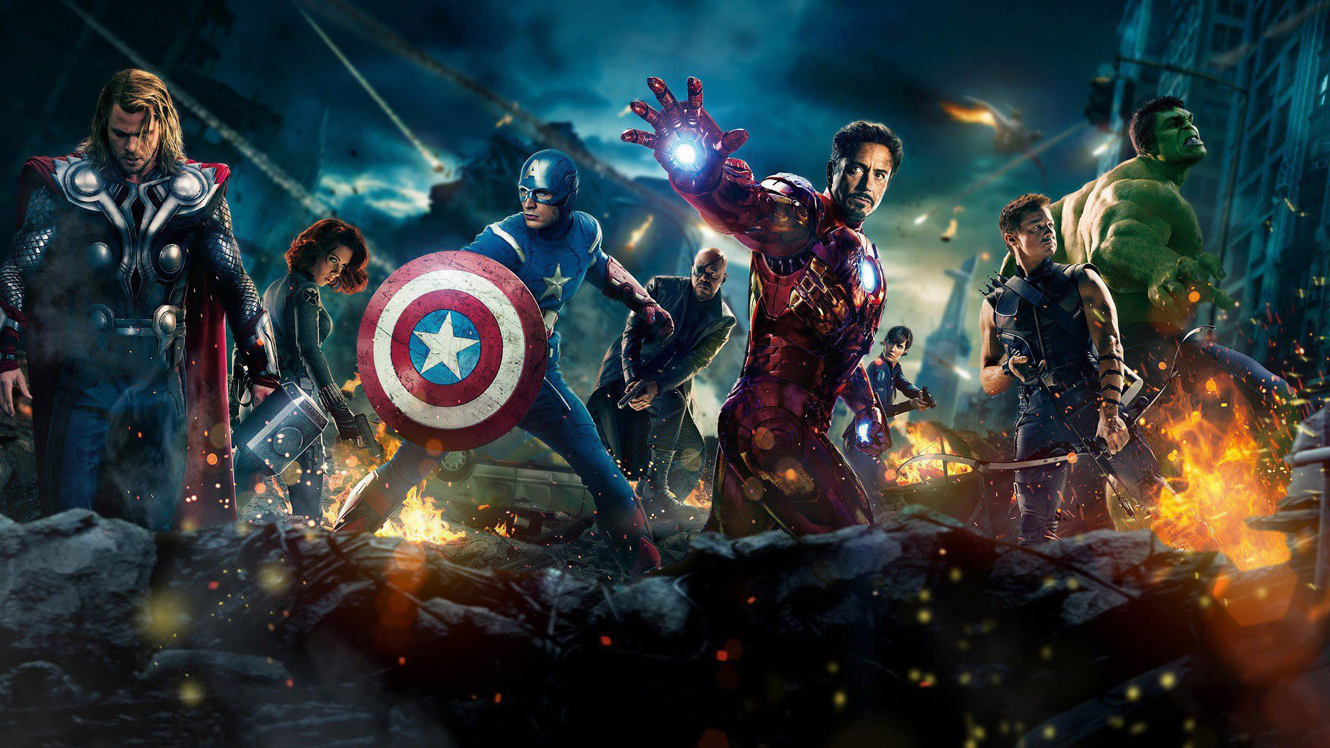 Avengers Assemble Background