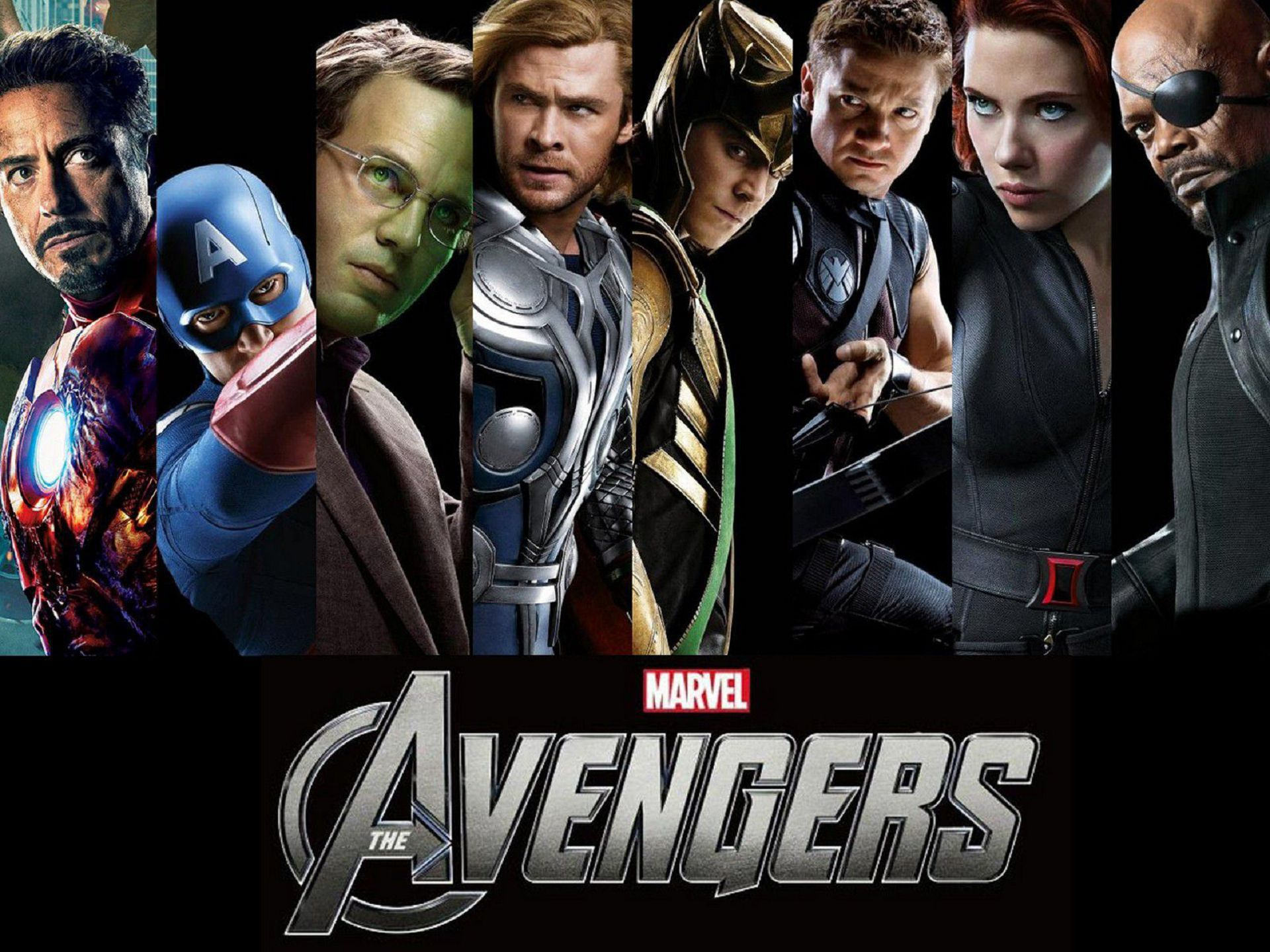 Avengers Assemble HD Background