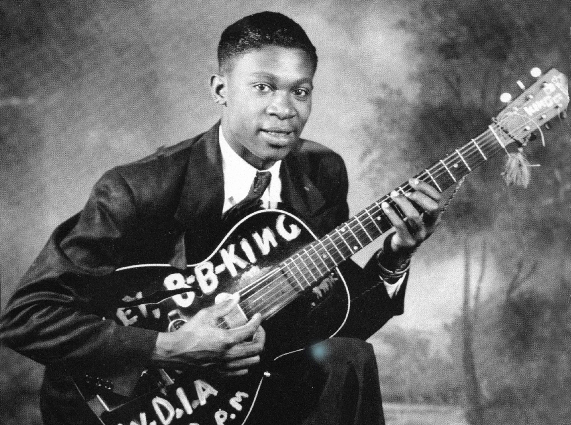 B B King Computer Wallpaper