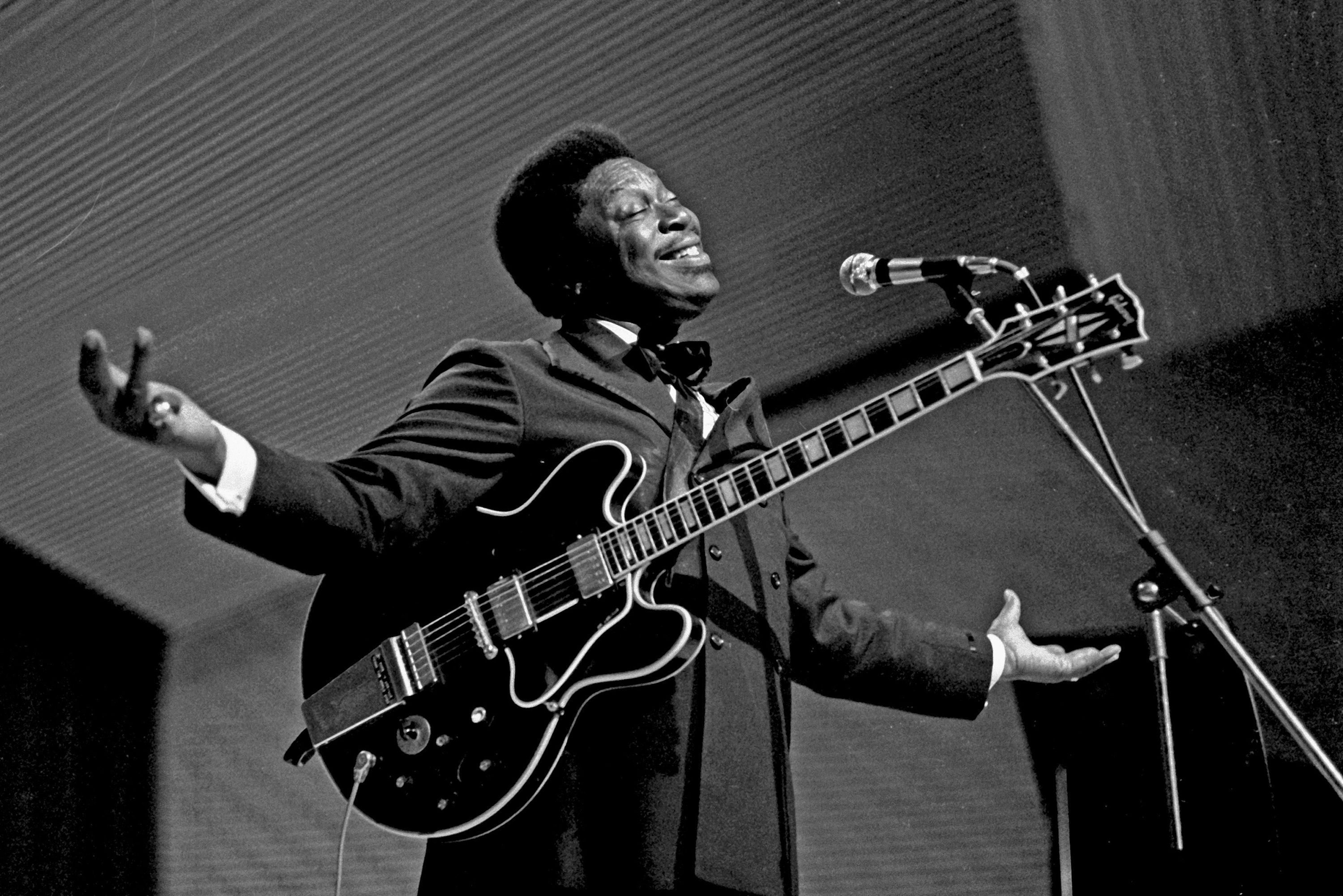 B B King In High Resolution