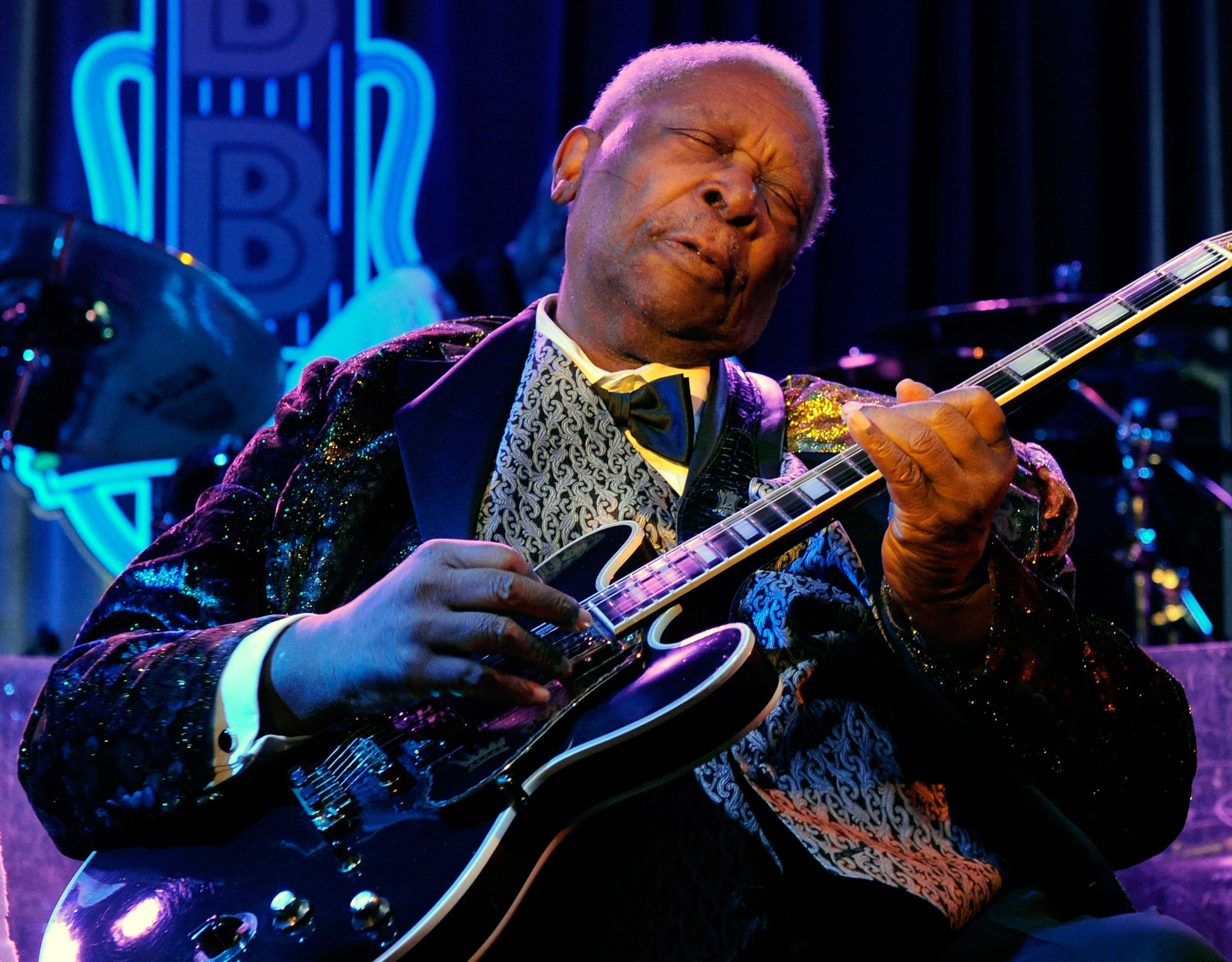 B B King In Concert At B B King's Blues Club At The Mirage