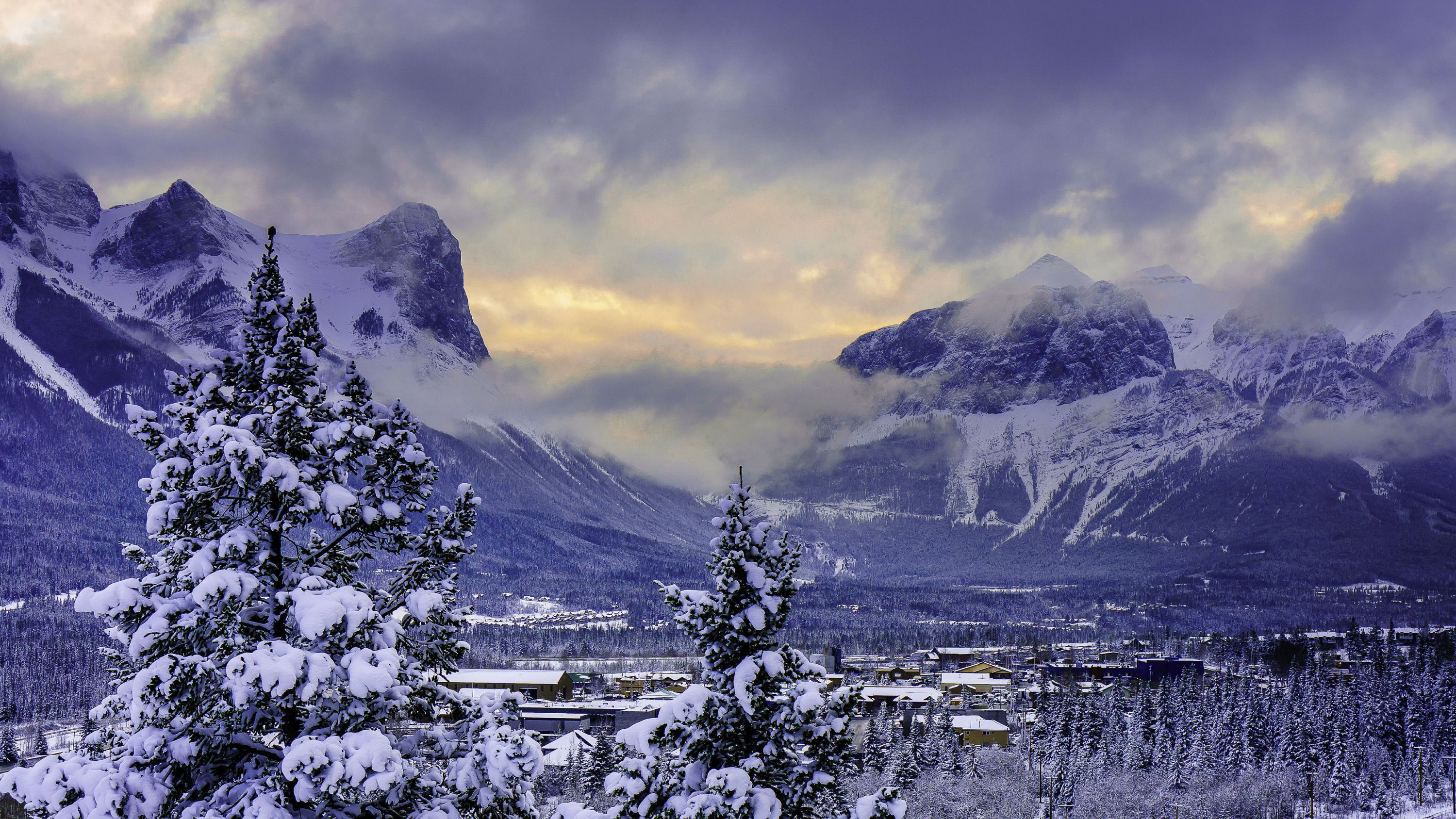 Banff National Park HD Background