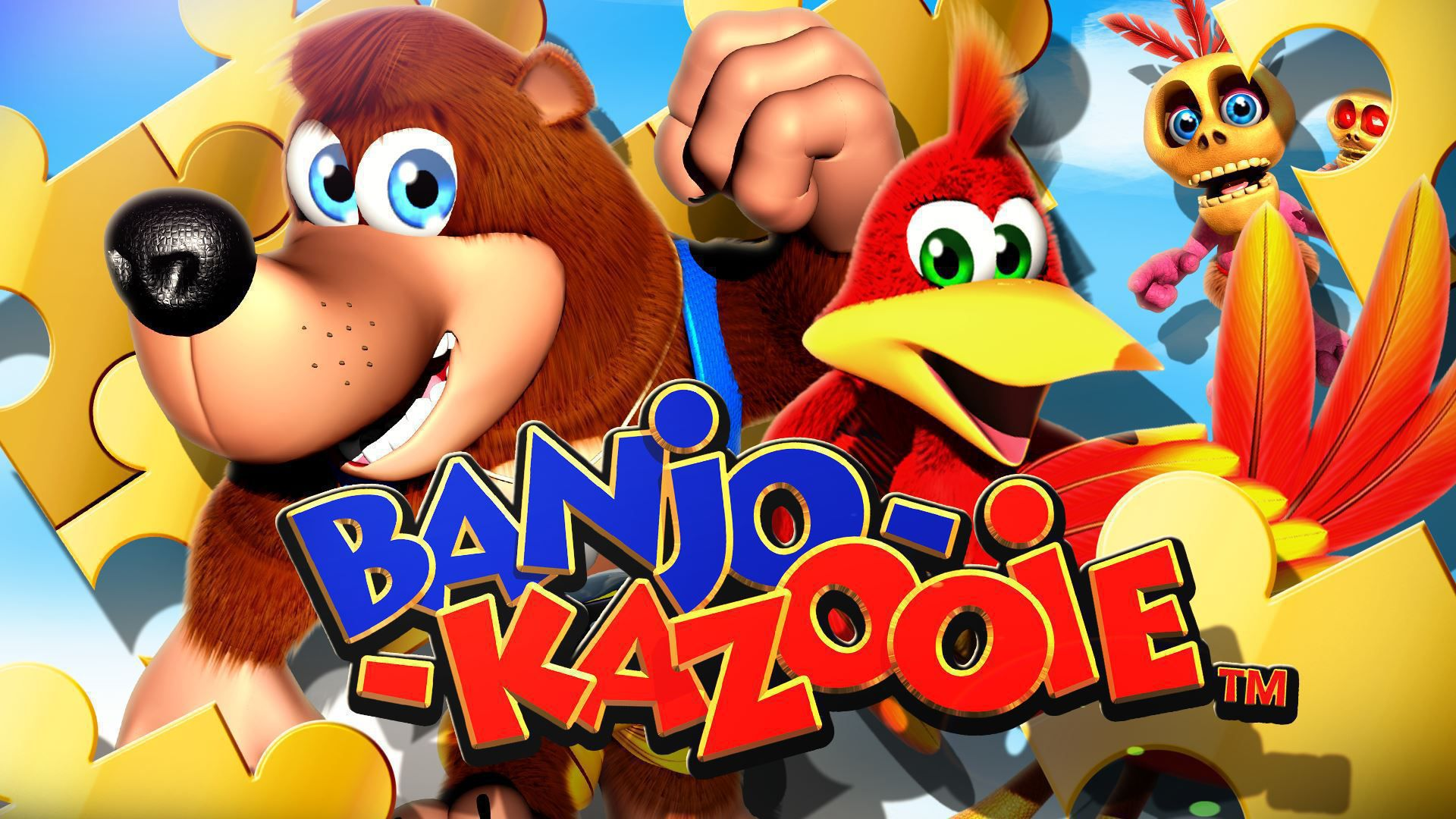banjo kazooie wallpapers backgrounds