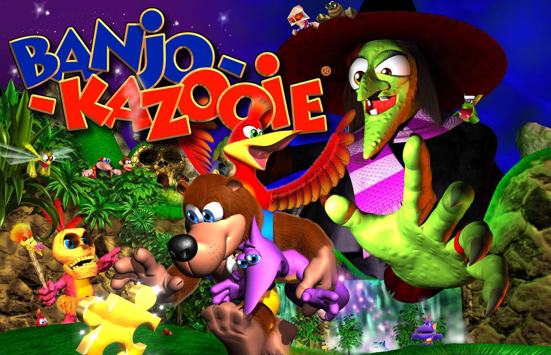 Banjo Kazooie Wallpaper Pack