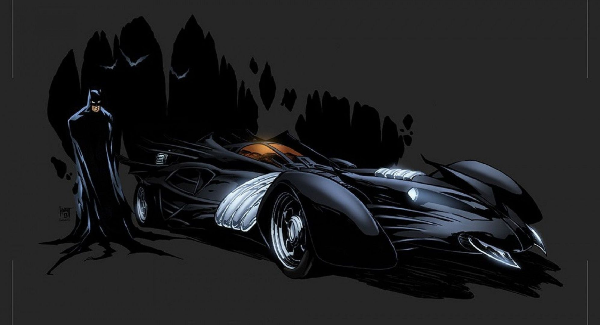 Batmobile HD Desktop