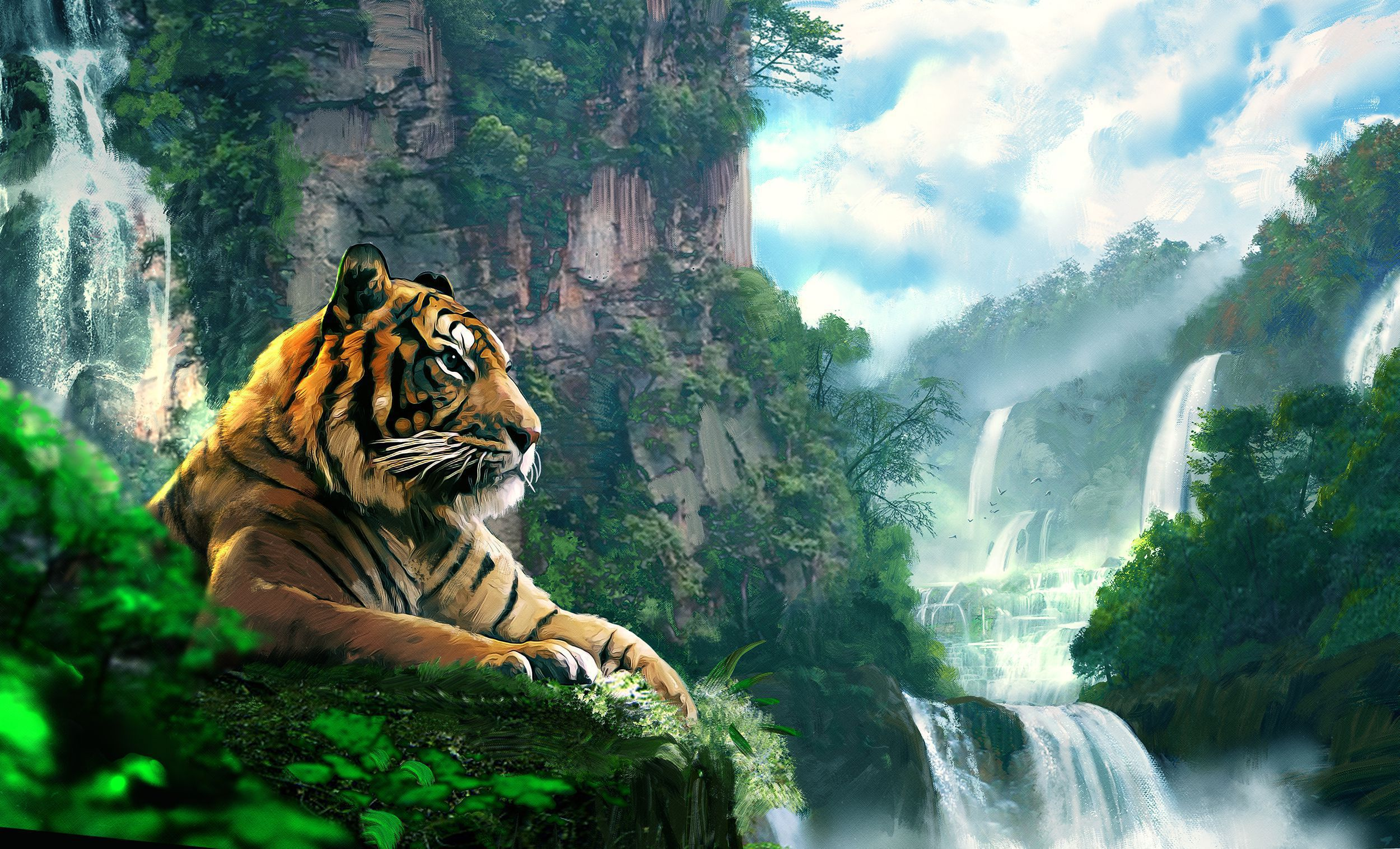 Big Cats HD Desktop