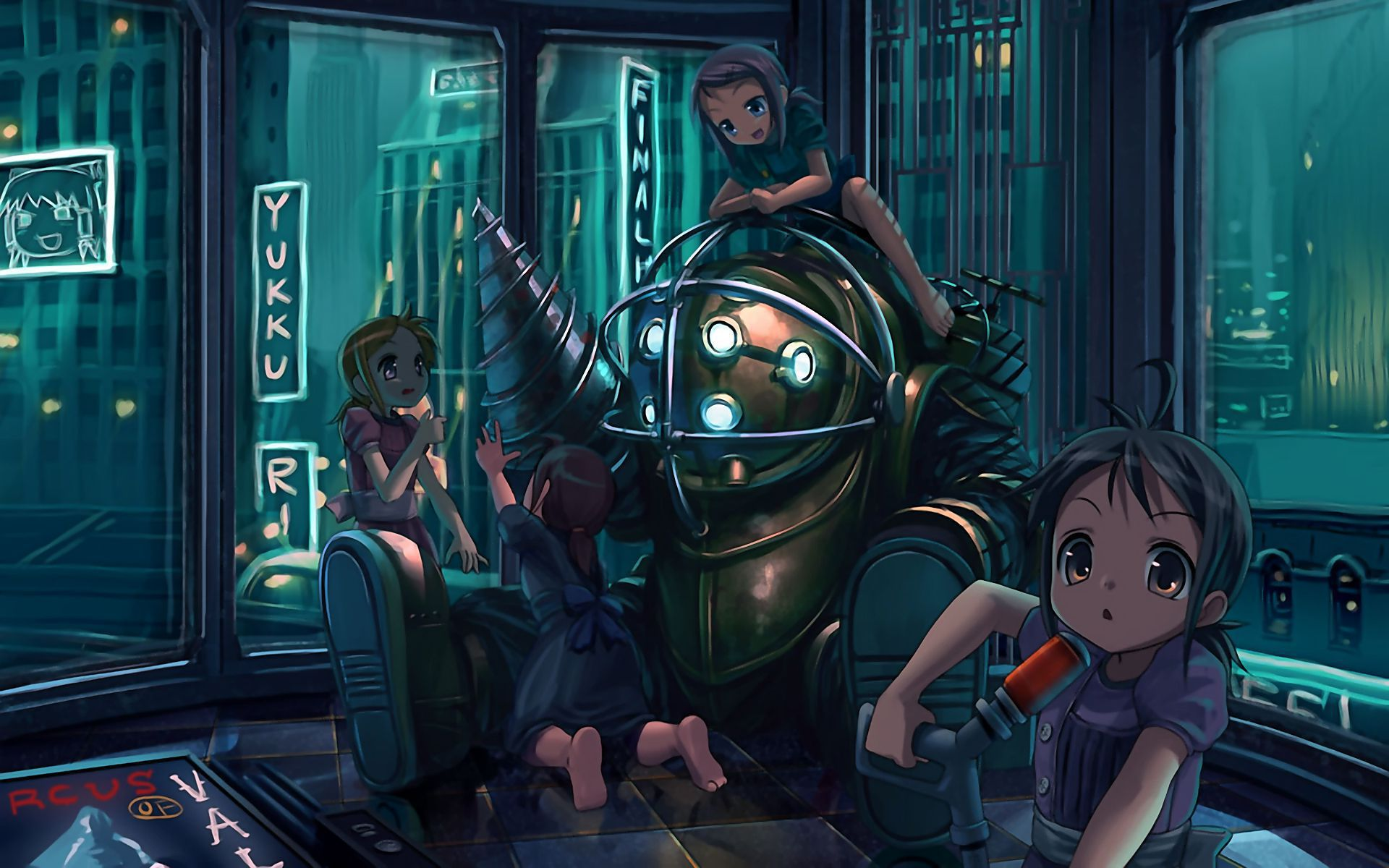 Bioshock Background