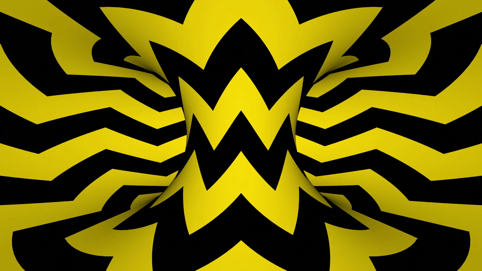 Black And Yellow HD Wallpaper