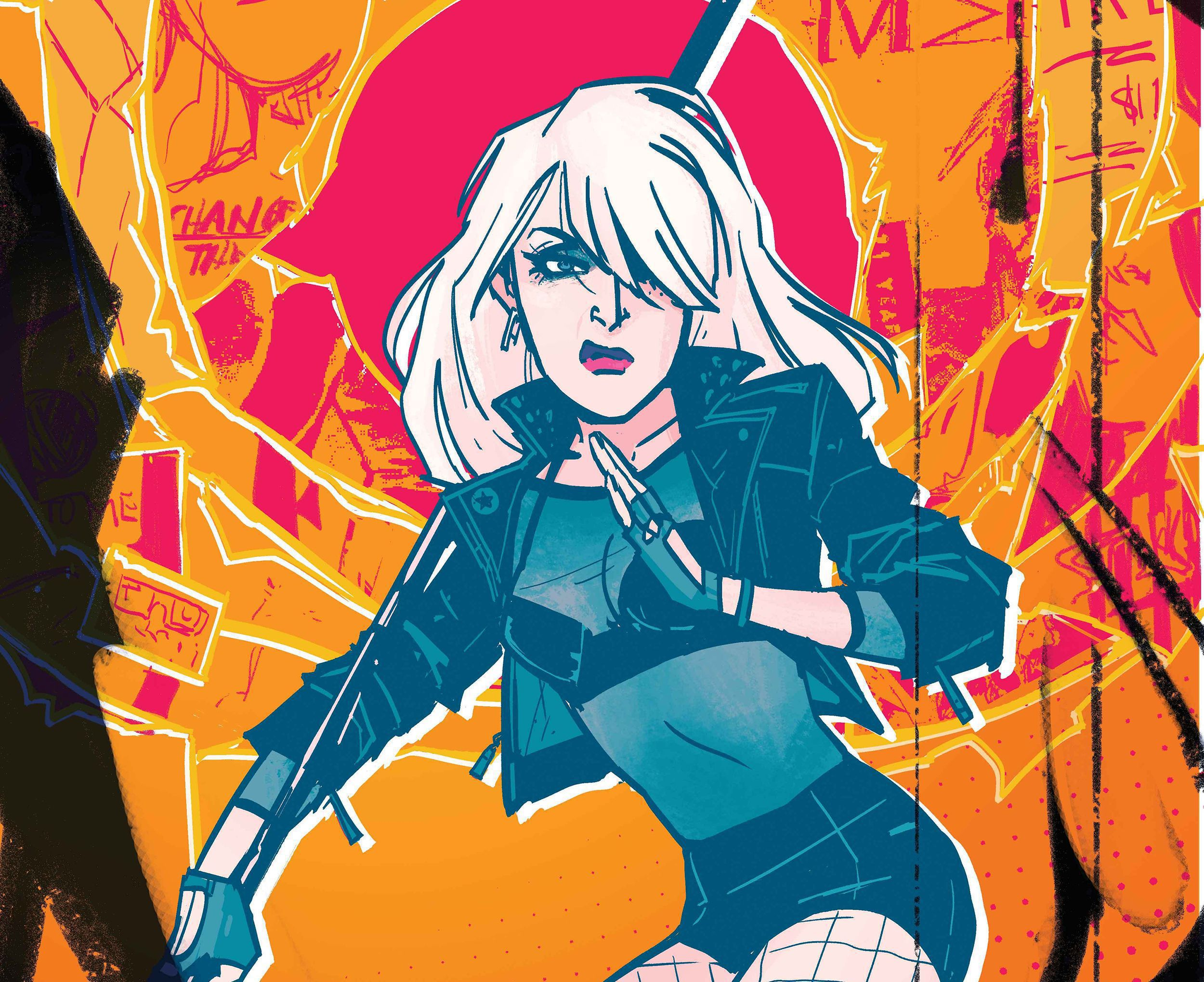 Black Canary HD Background