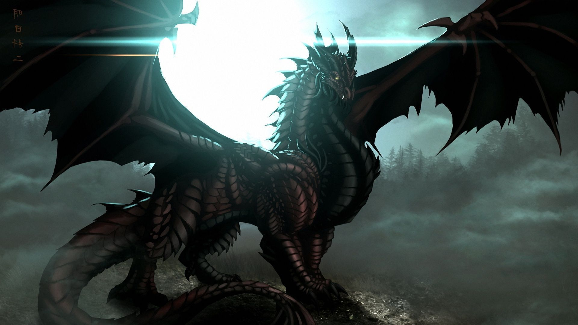 Black Dragon Computer Wallpaper