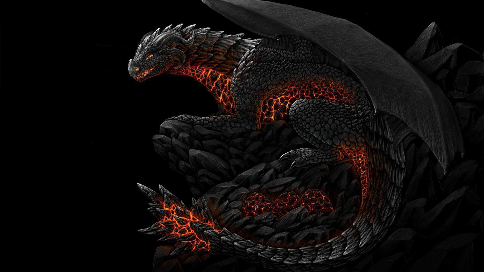 Black Dragon High Quality Wallpapers