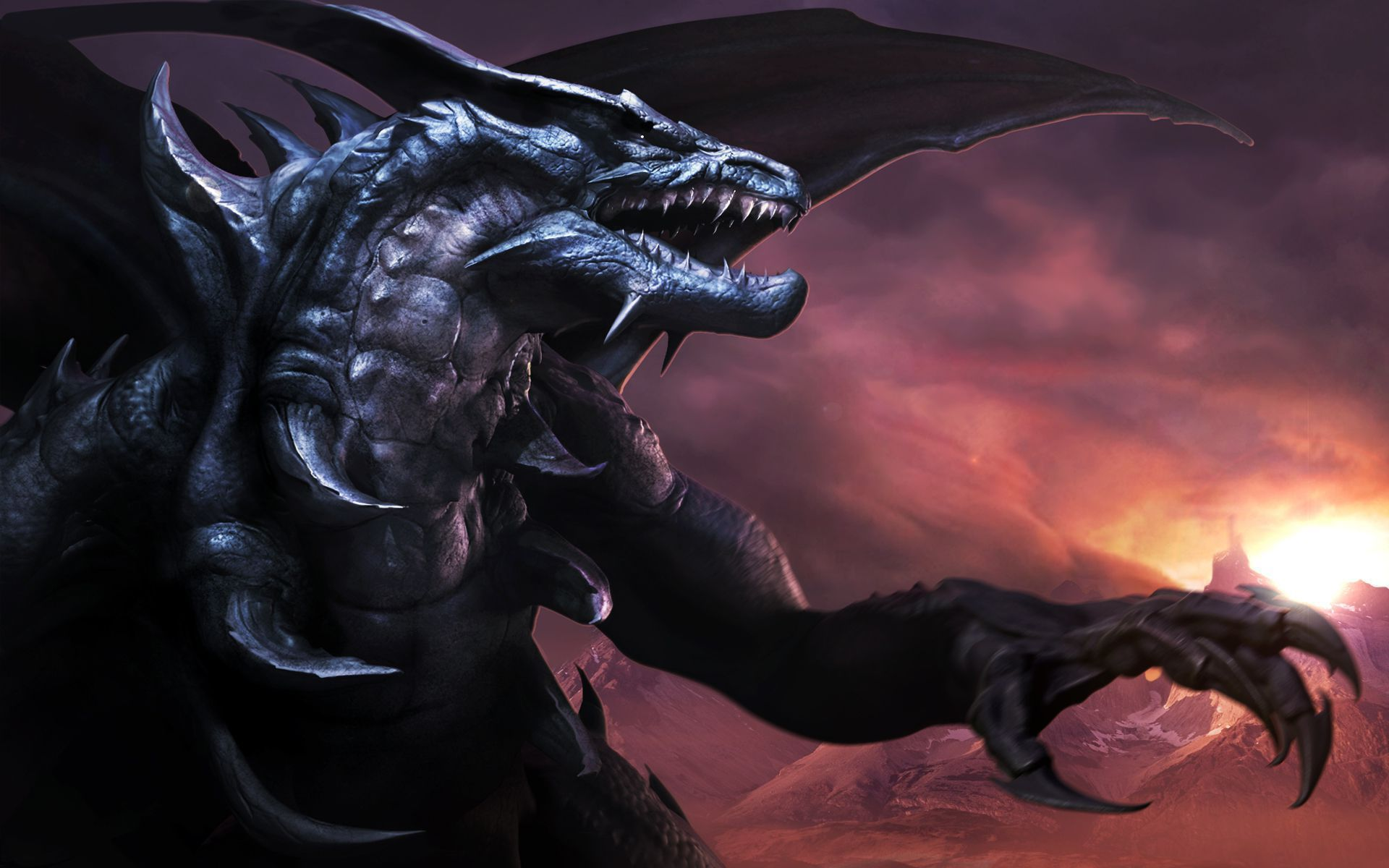 Black Dragon Wallpapers