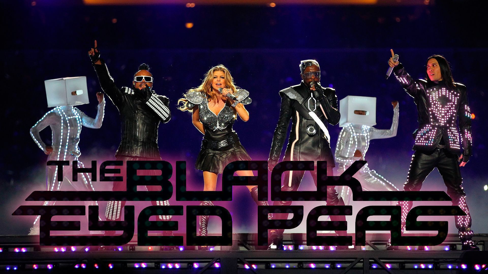 Black Eyed Peas HD Desktop