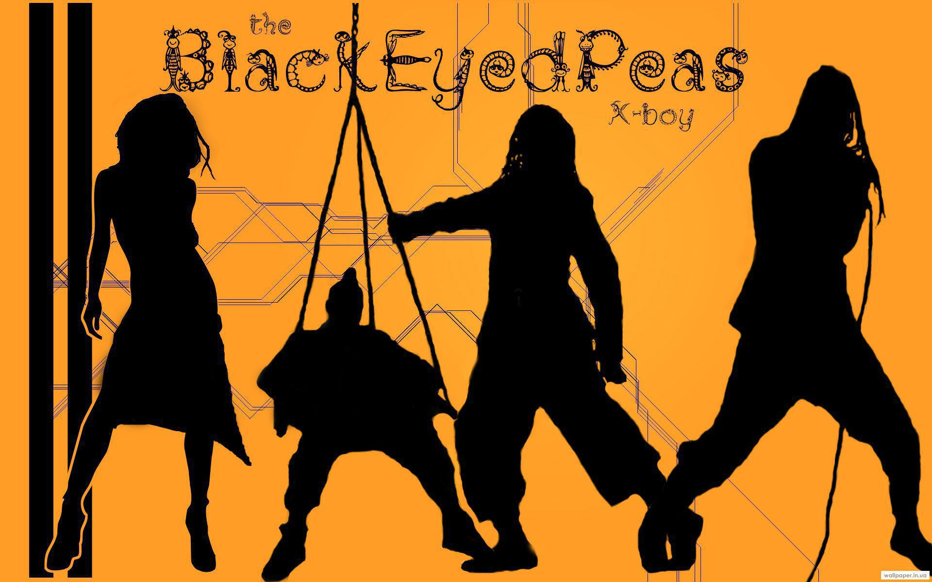 Black Eyed Peas Widescreen