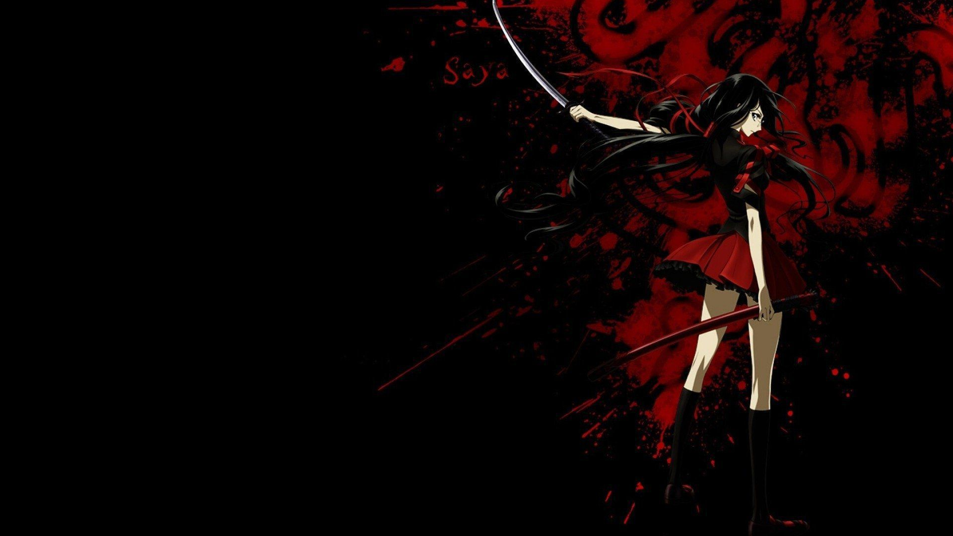 Blood Anime HD Background
