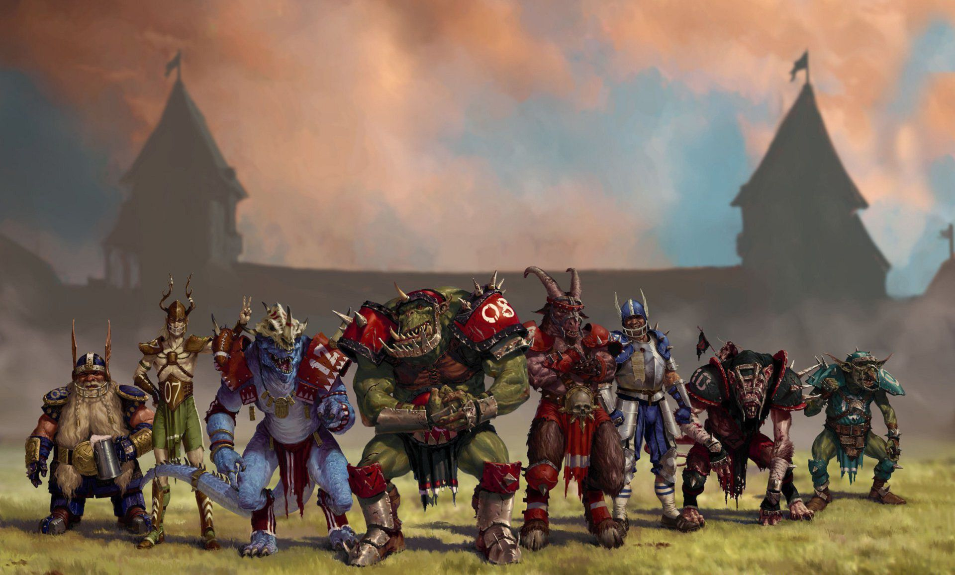 Blood Bowl Background