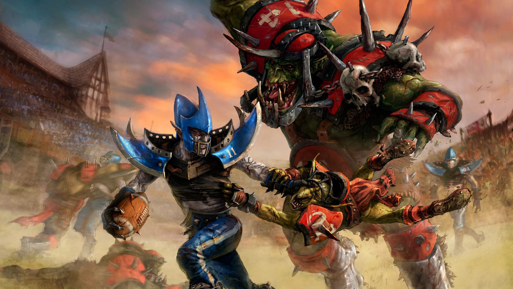 Blood Bowl HD Background