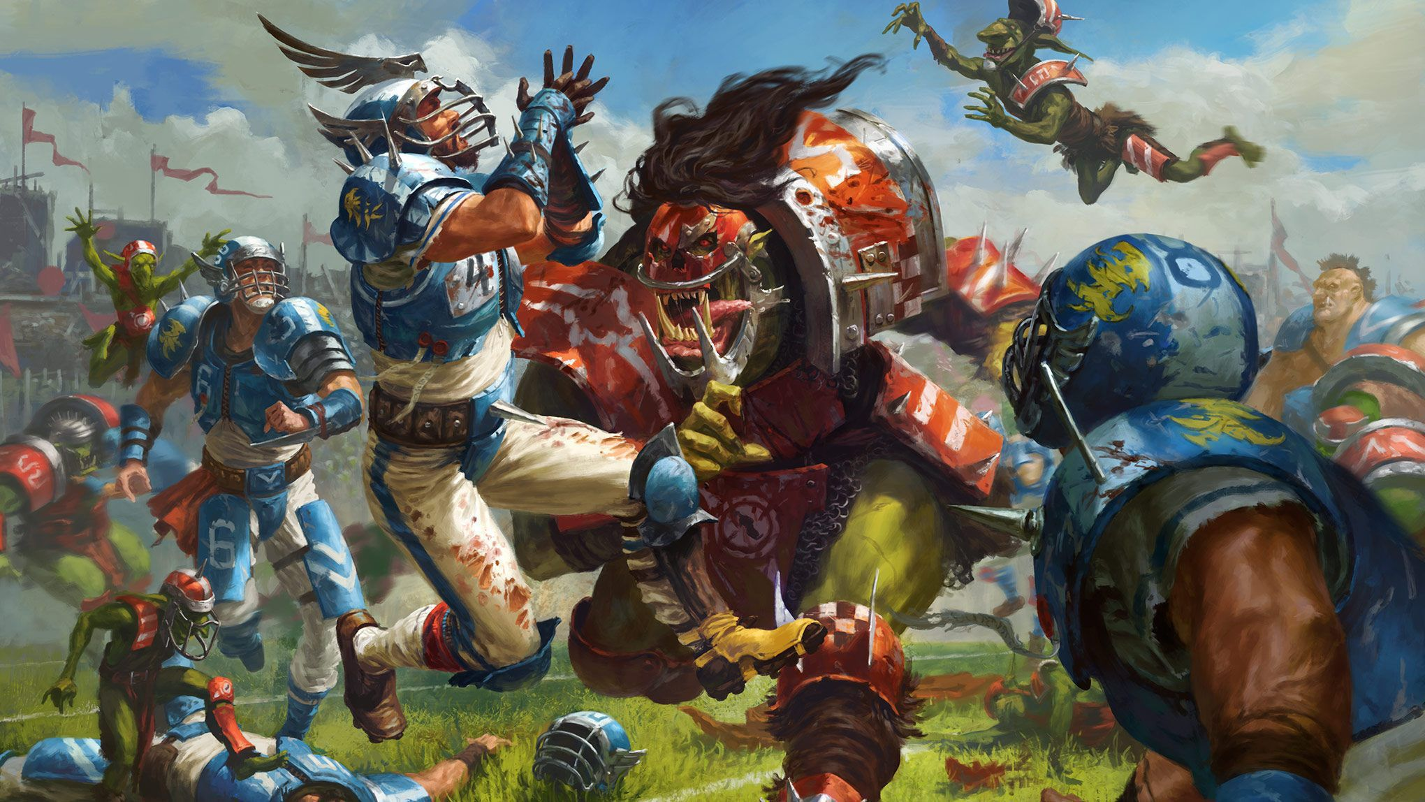 Blood Bowl High Definition Wallpapers