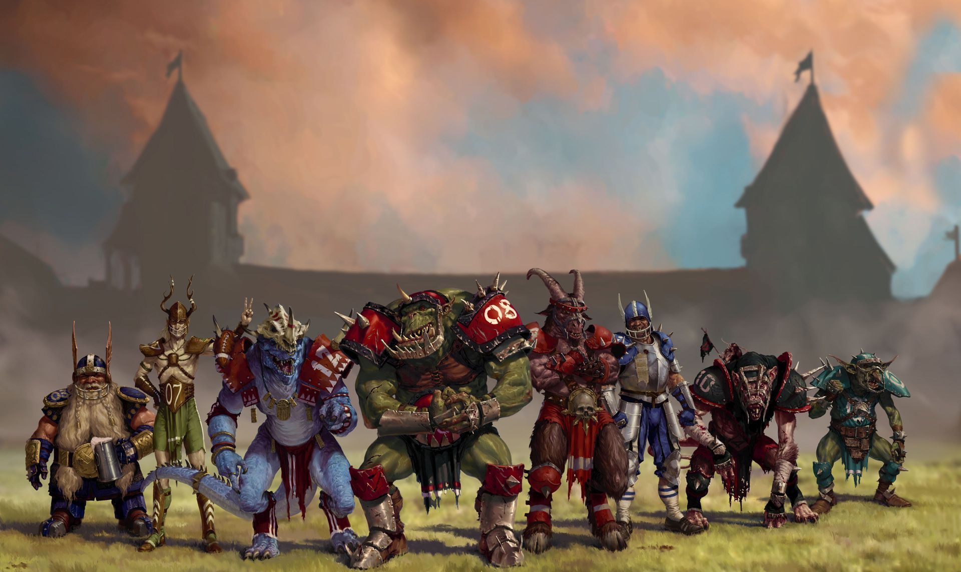 Blood Bowl Pictures