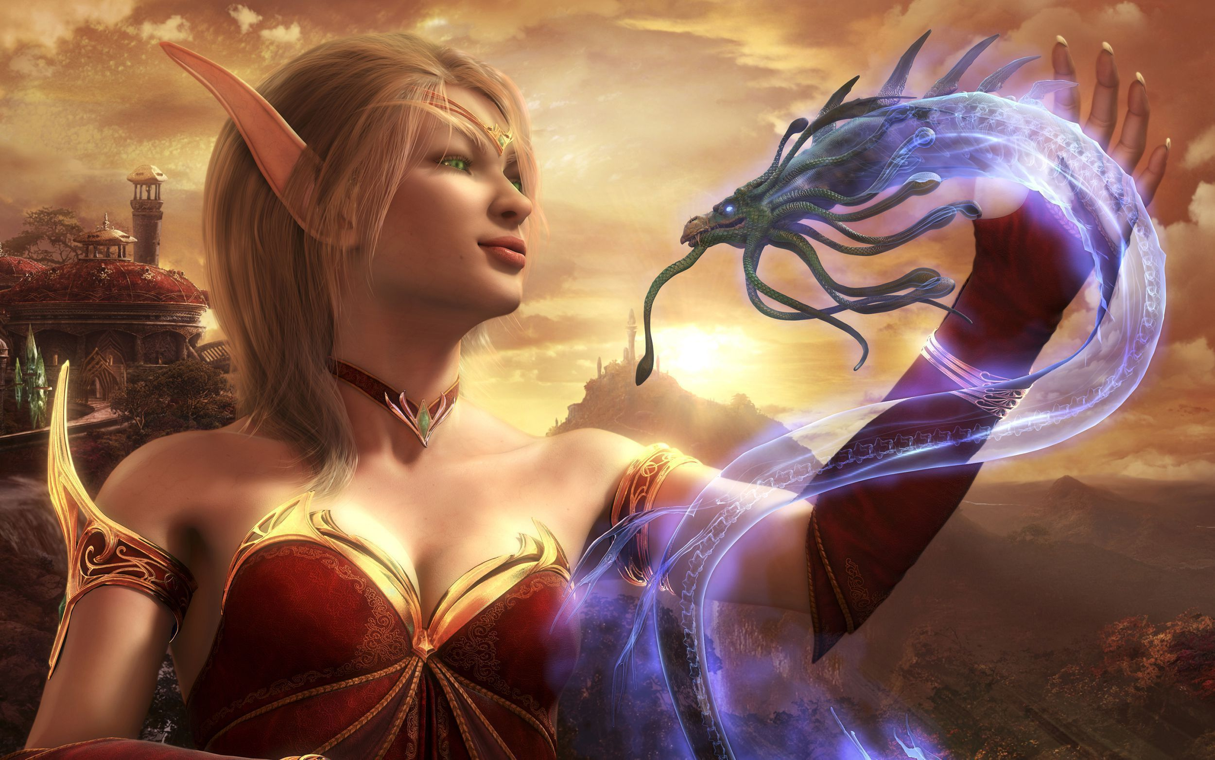 Blood Elf High Quality Wallpapers