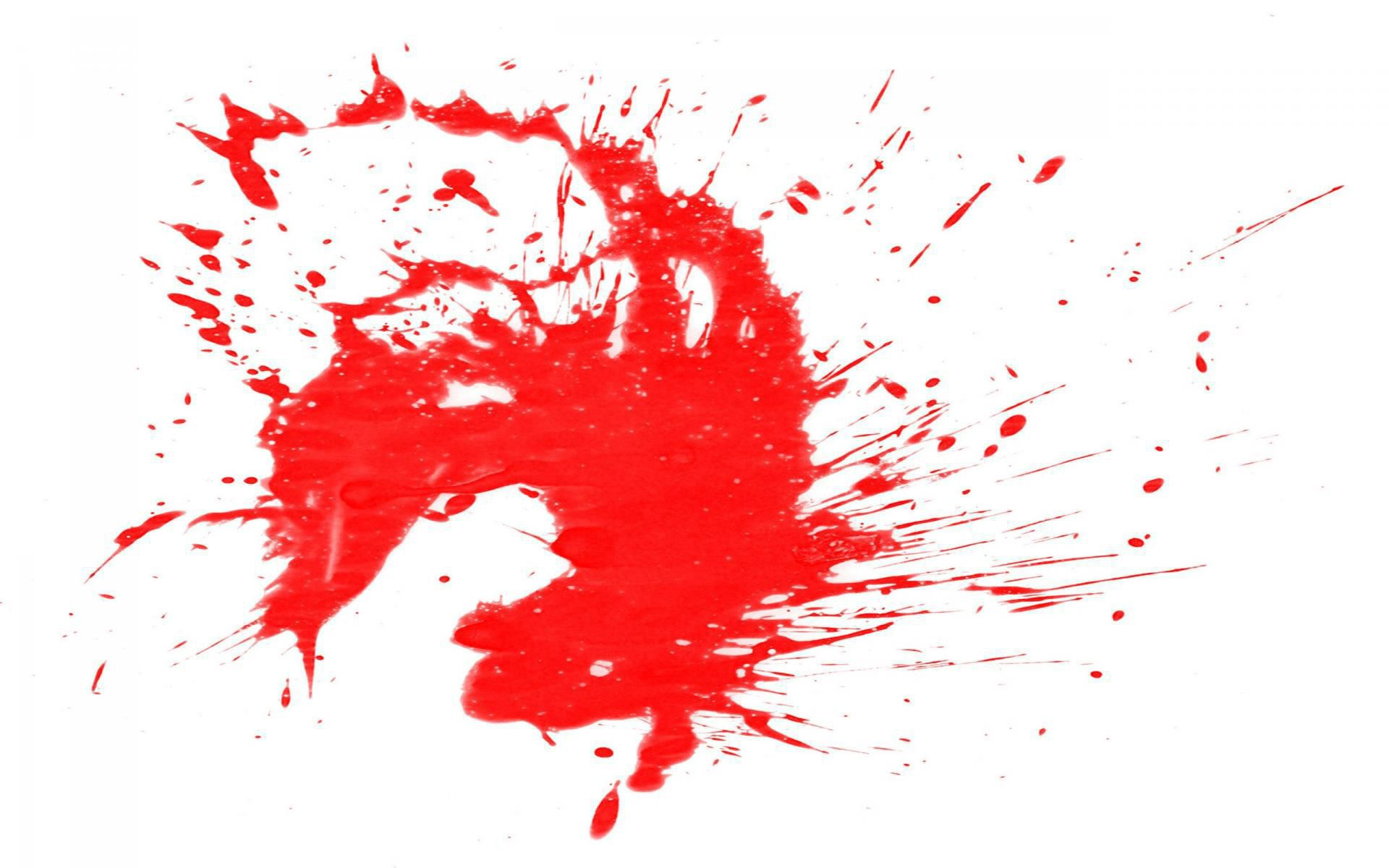 Blood Splatter Pictures