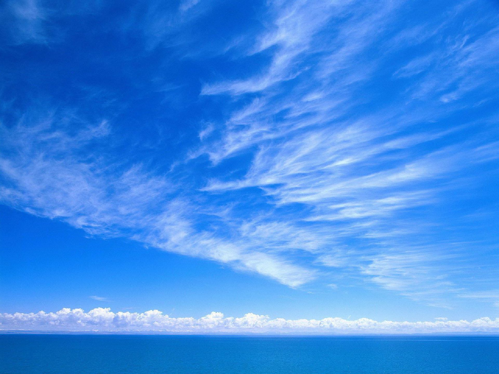 Blue Sky Computer Wallpaper