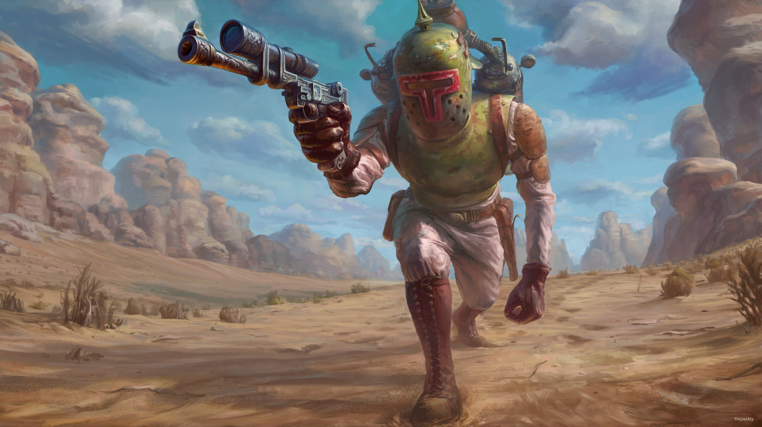 Boba Fett High Quality Wallpapers