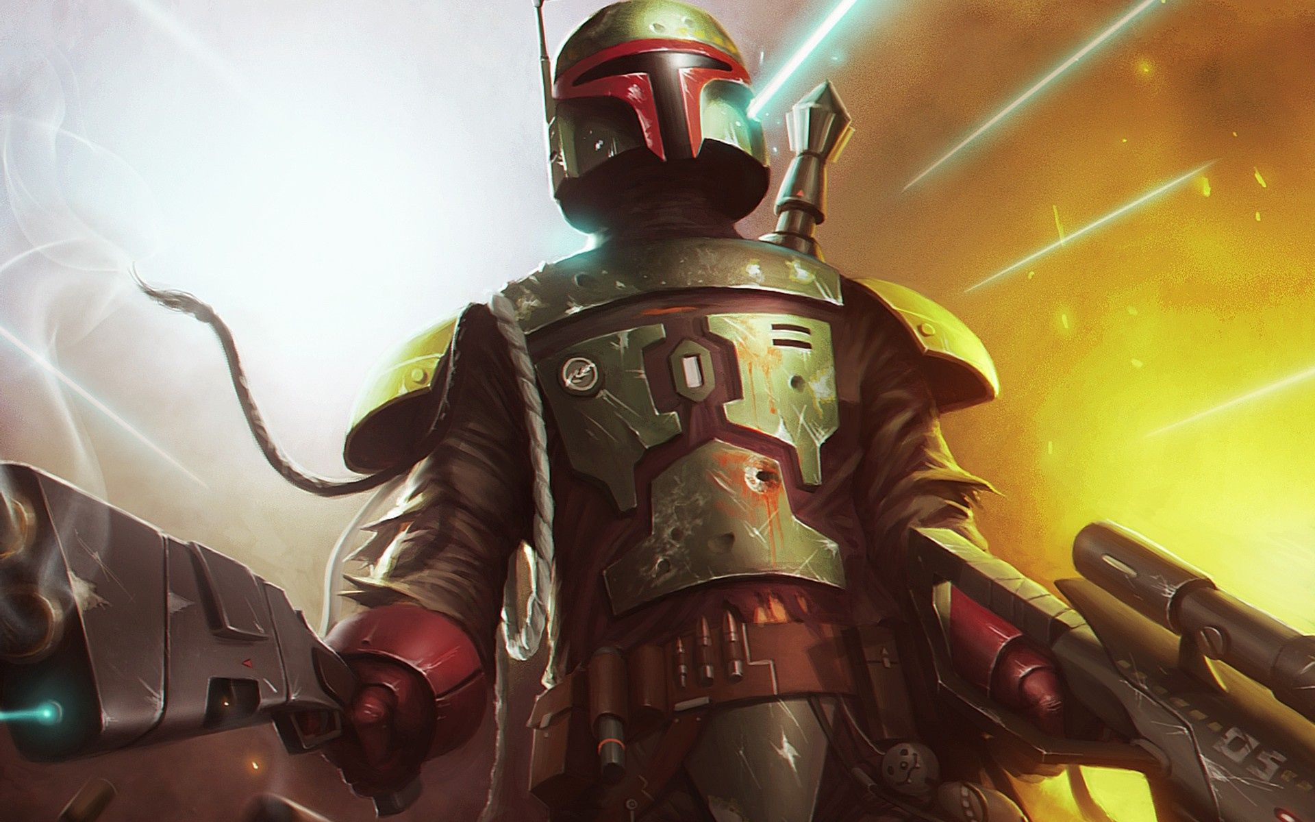 Boba Fett Widescreen