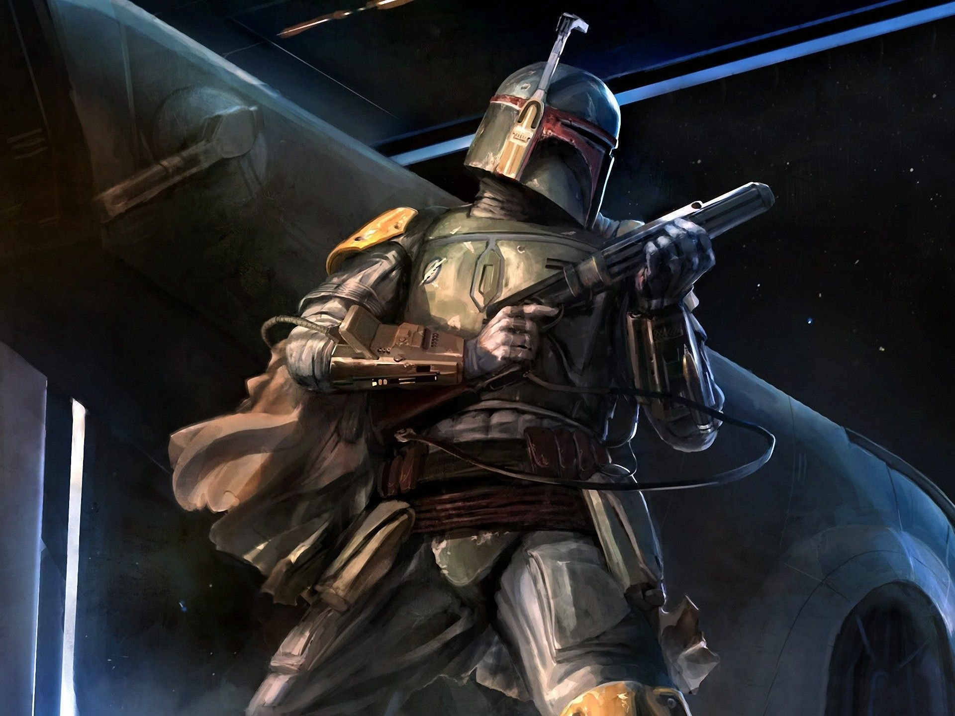Boba Fett In High Resolution