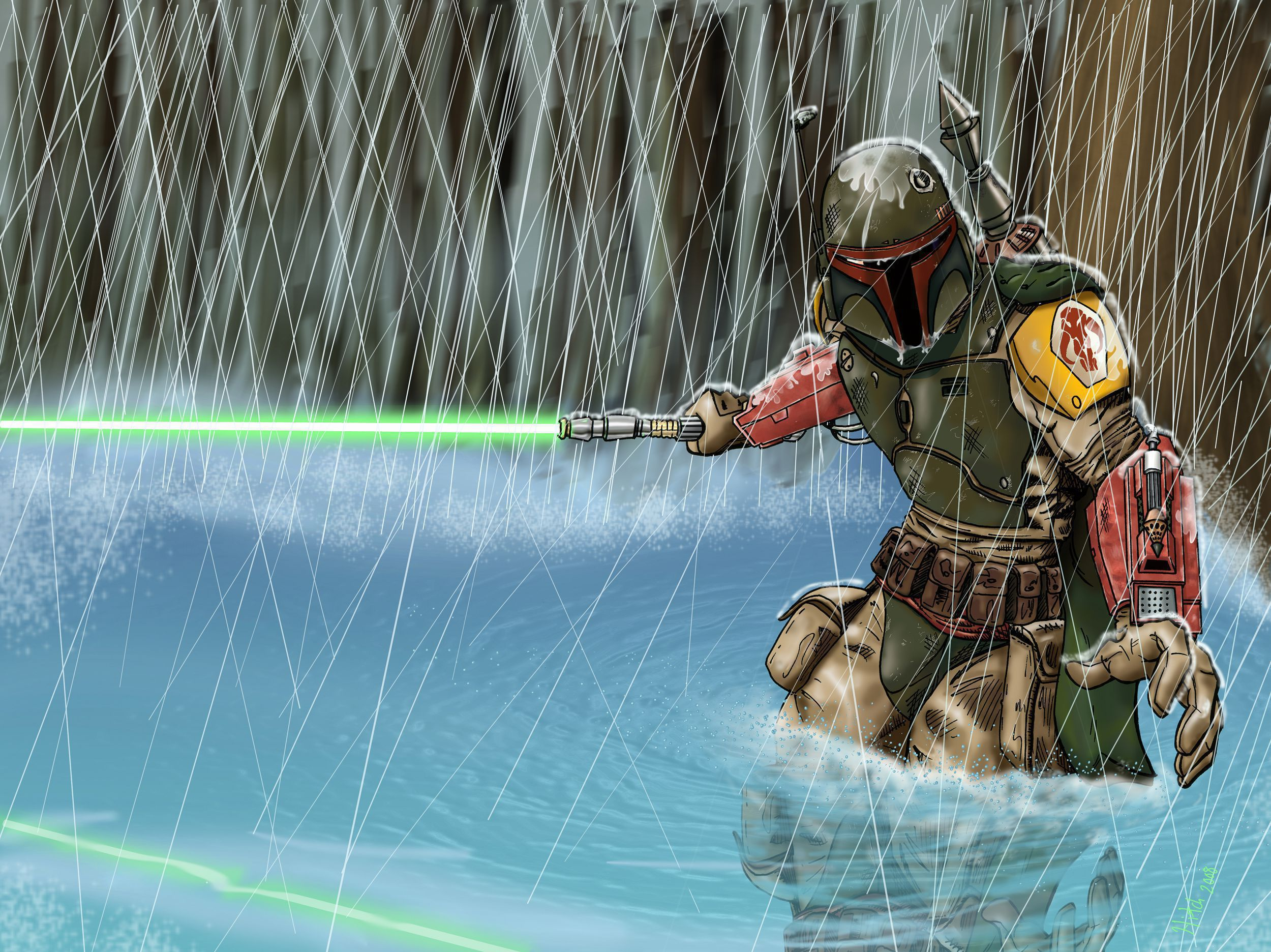 Boba Fett Wallpaper Pack