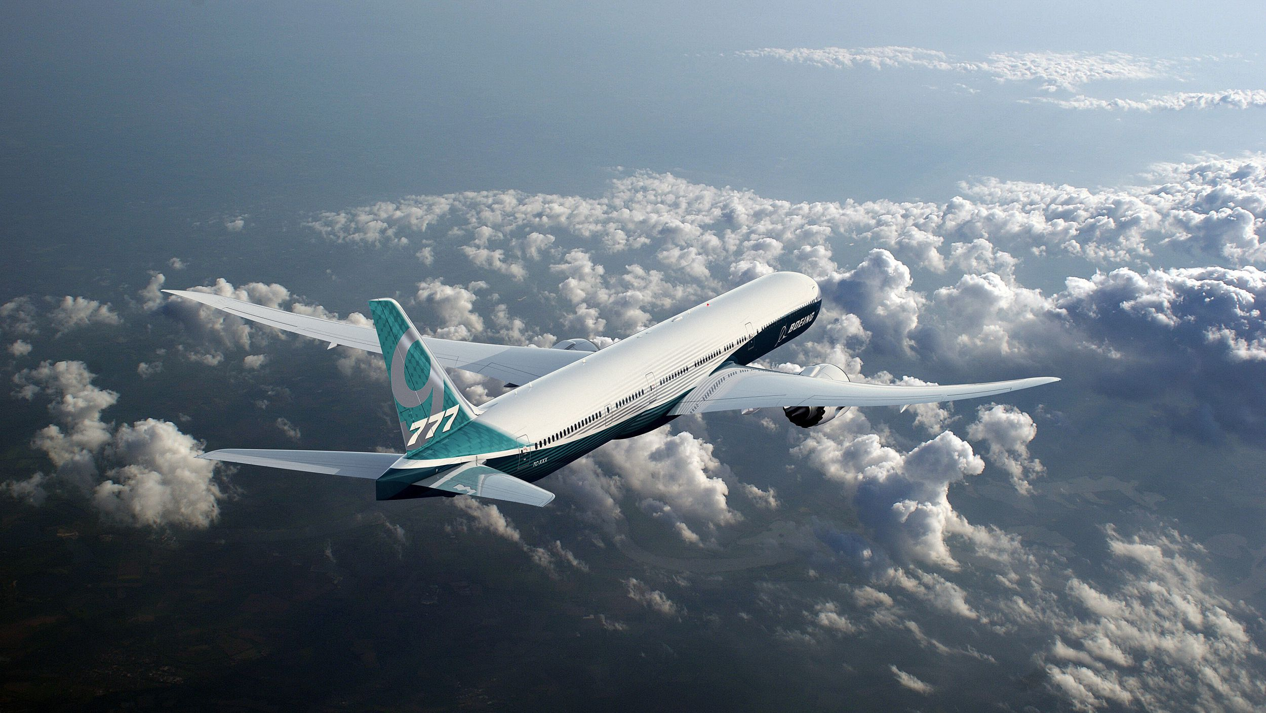 Boeing 777 Wallpaper