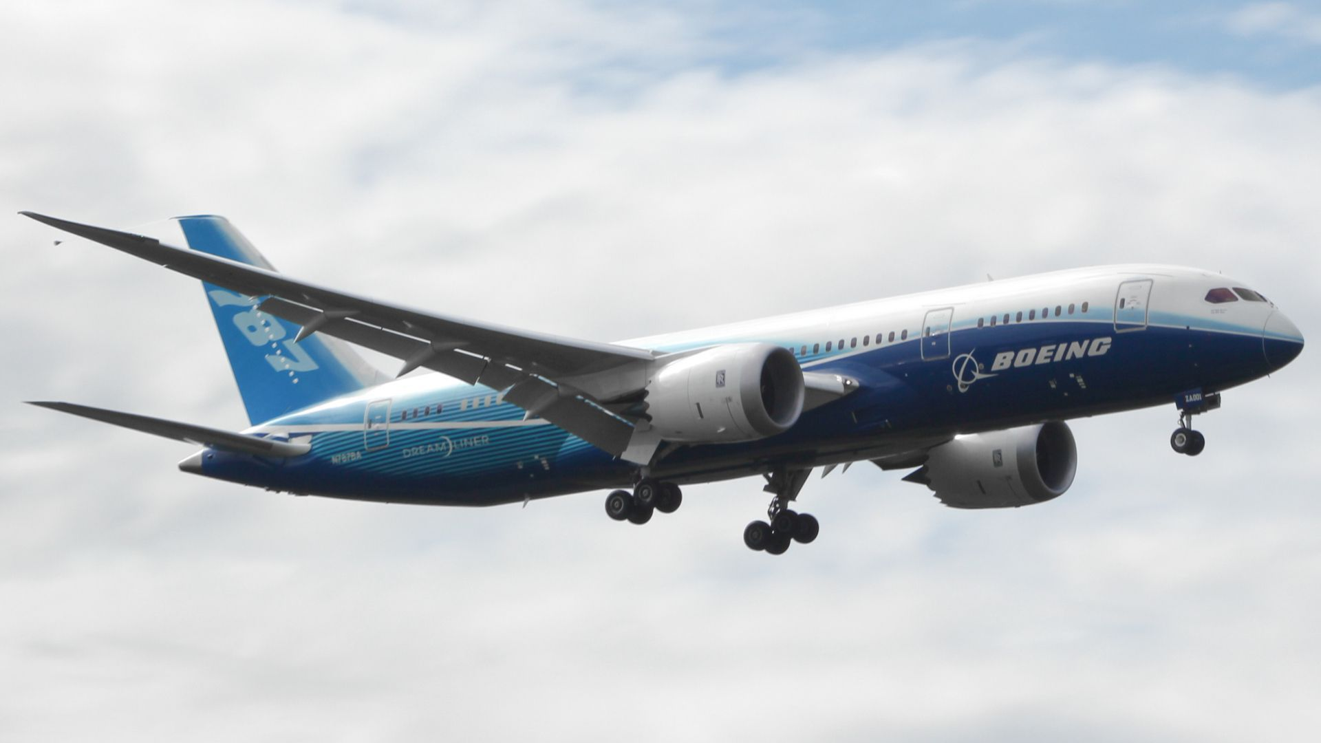 Boeing 787 Widescreen
