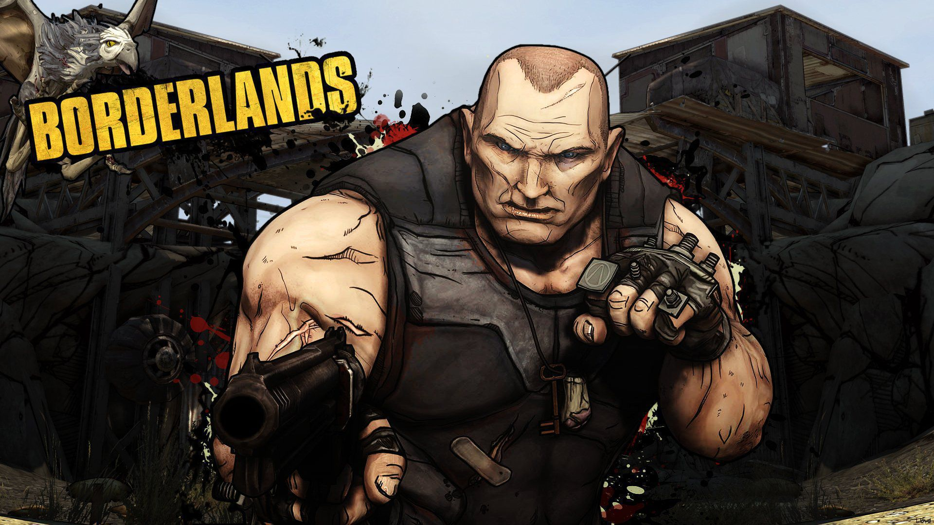 Borderlands HD Wallpaper