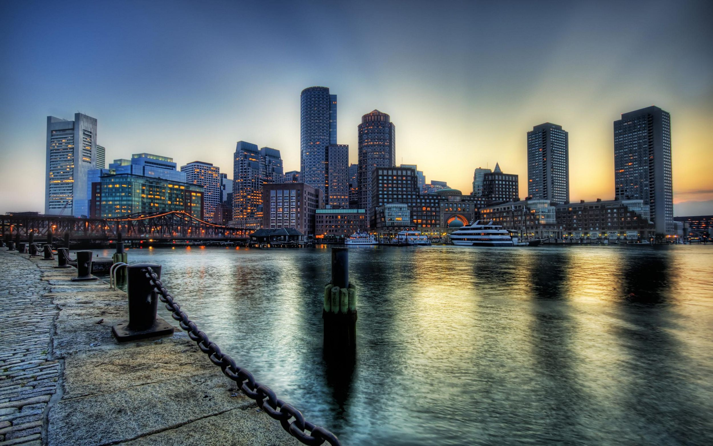 Boston Massachusetts In High Resolution